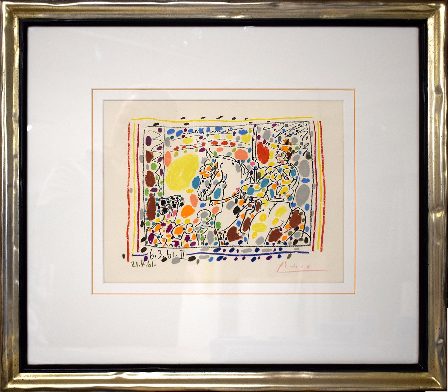 Pablo Picasso - The Picador II , 0613-008-151