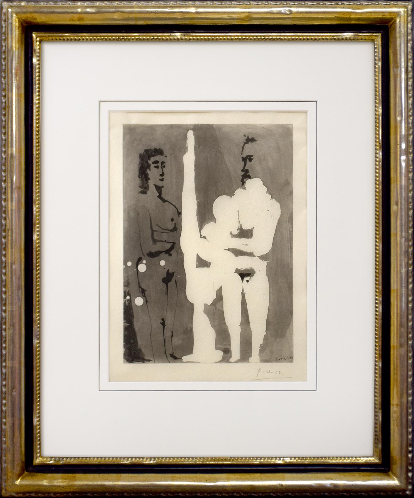 Pablo Picasso - Aquatinta vom 8.2.1964 II aus ... , 0613-008-026