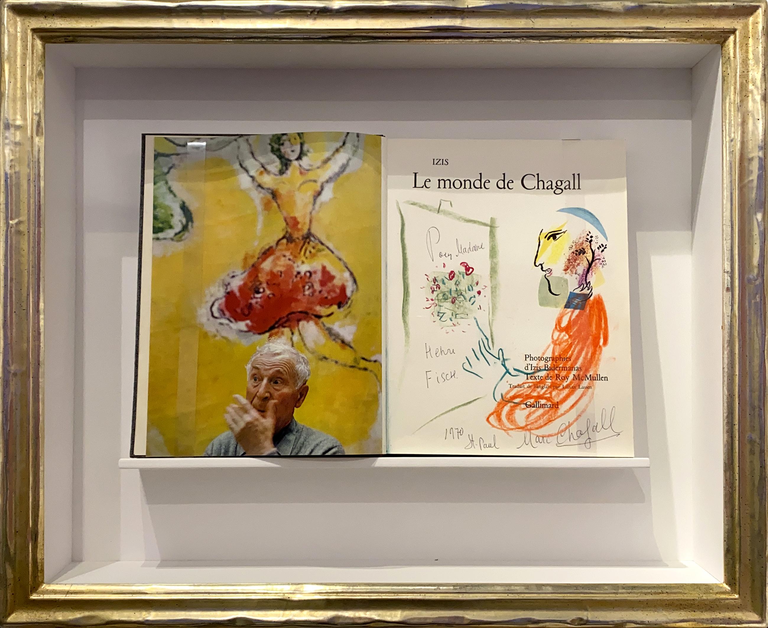 """Marc Chagall - Chagall an der Staffelei """"Le Monde du Chagall"""" (Unikat) , 0610-012-012"""