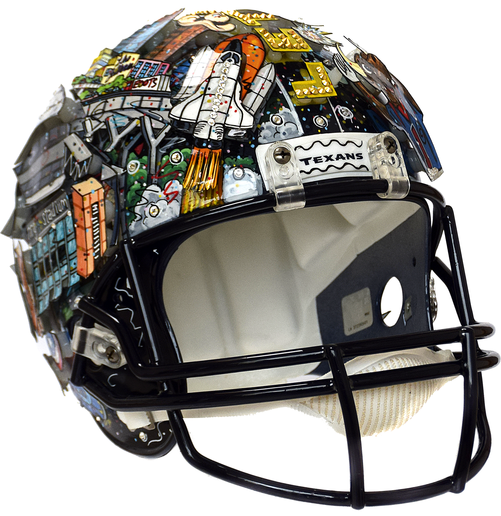 Charles Fazzino - Houston Texas Helmet , 0552-011-062