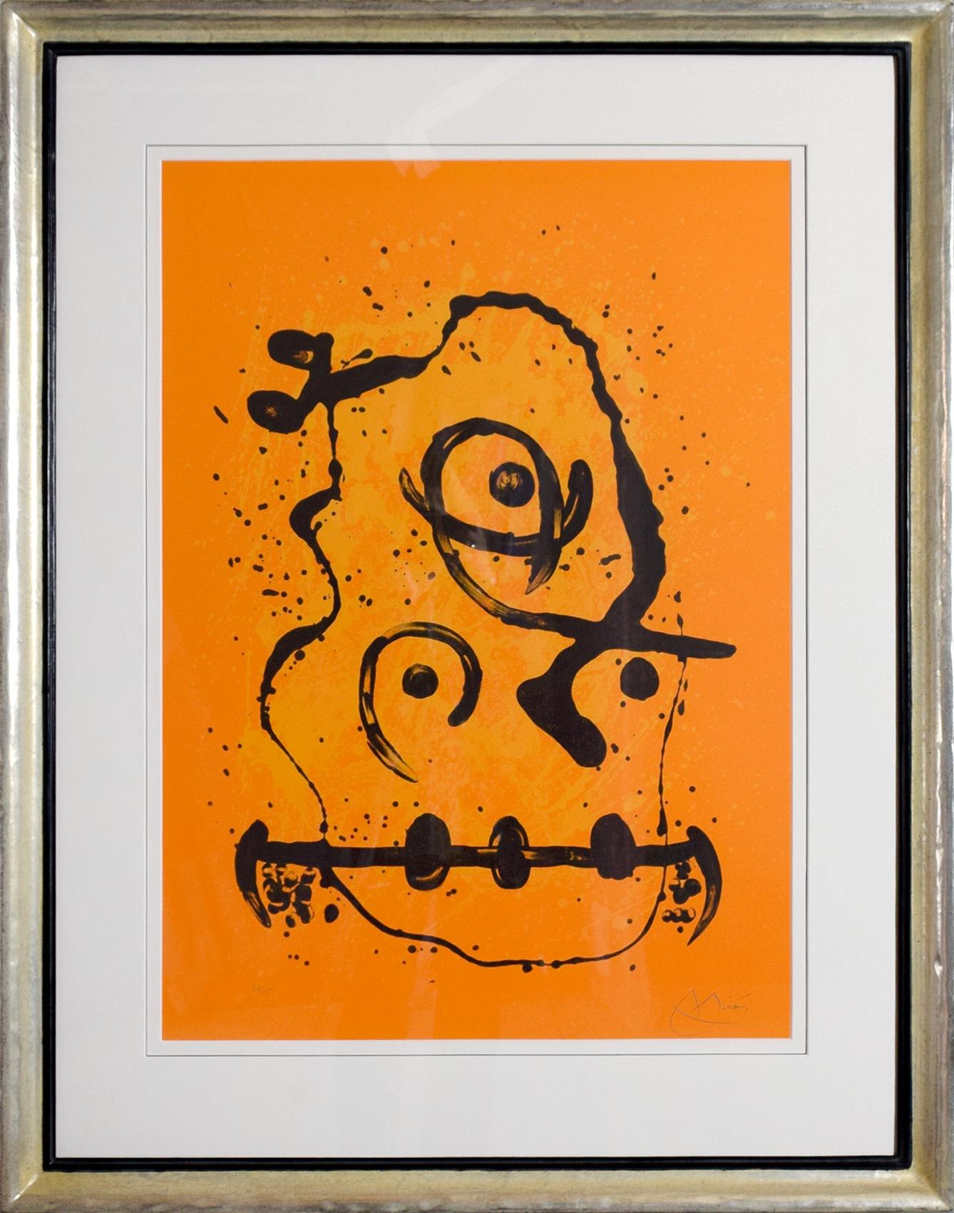 Joan Miró - Le Polyglotte - Orange , 0612-008-315