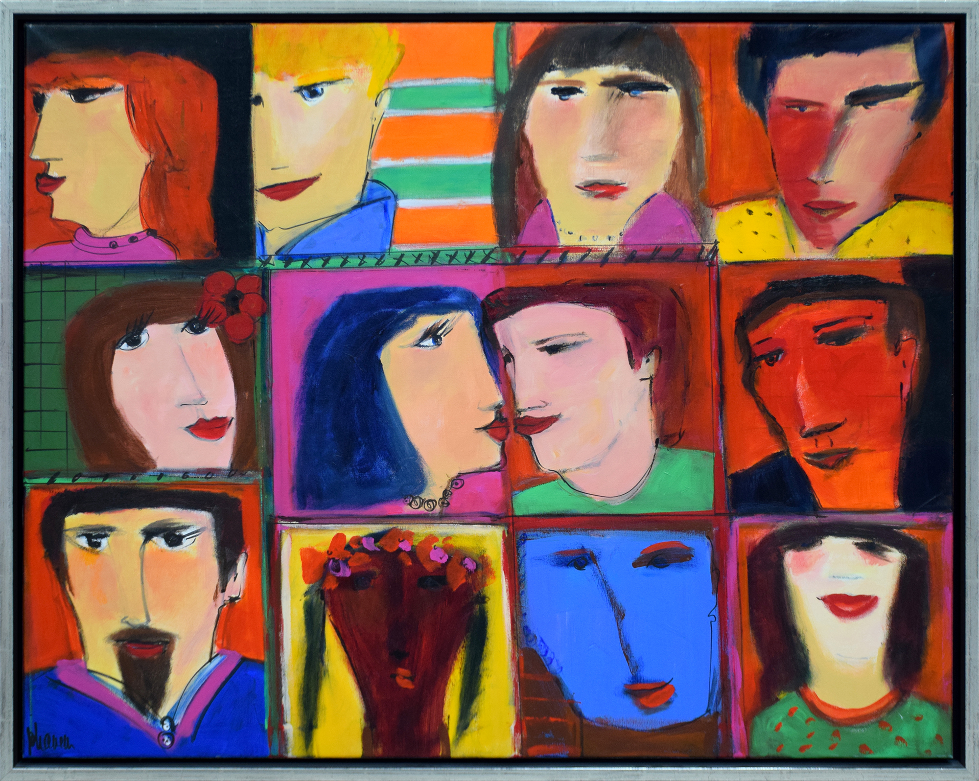 Johanan Herson - Faces , 0699-006-003