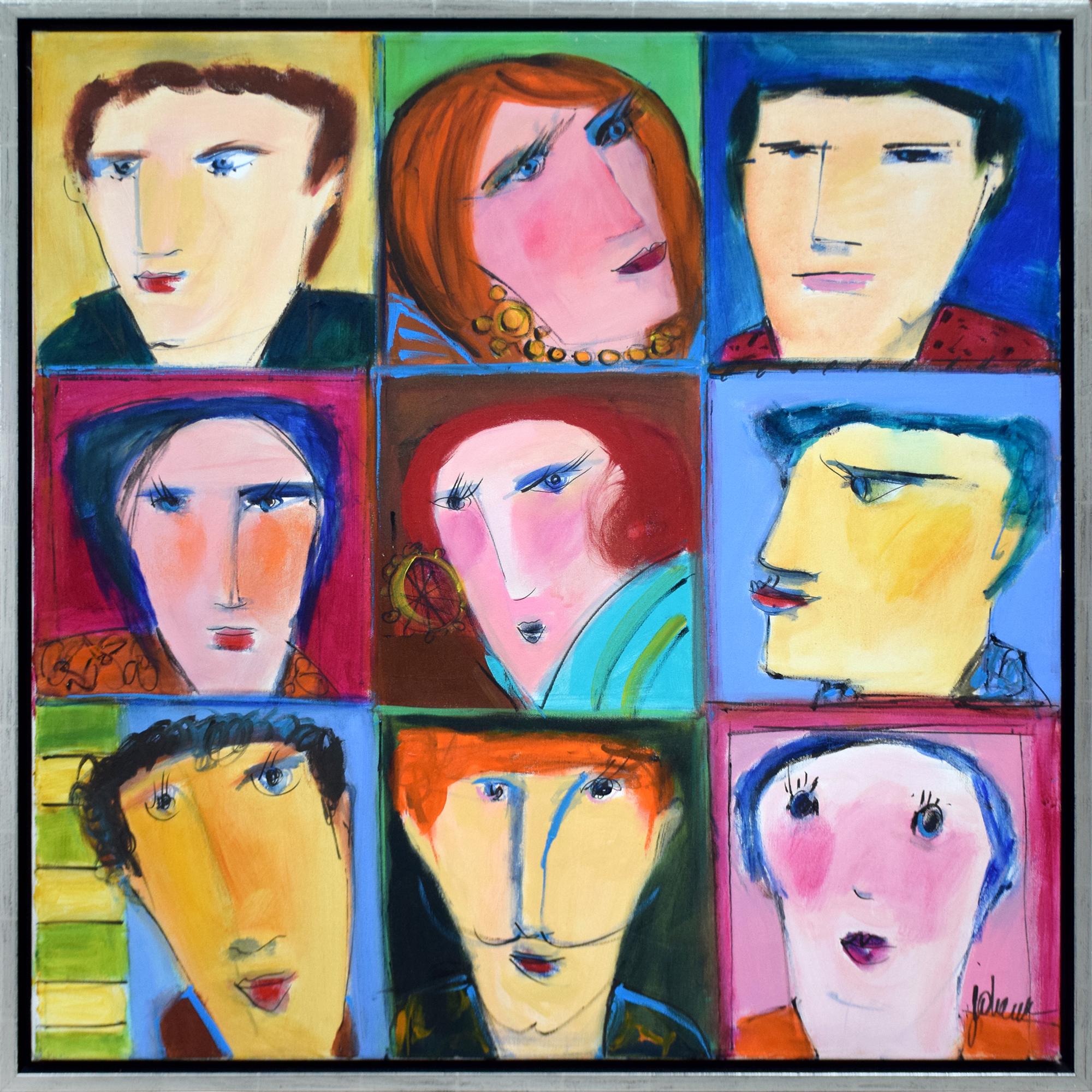 Johanan Herson - Faces , 0699-006-002