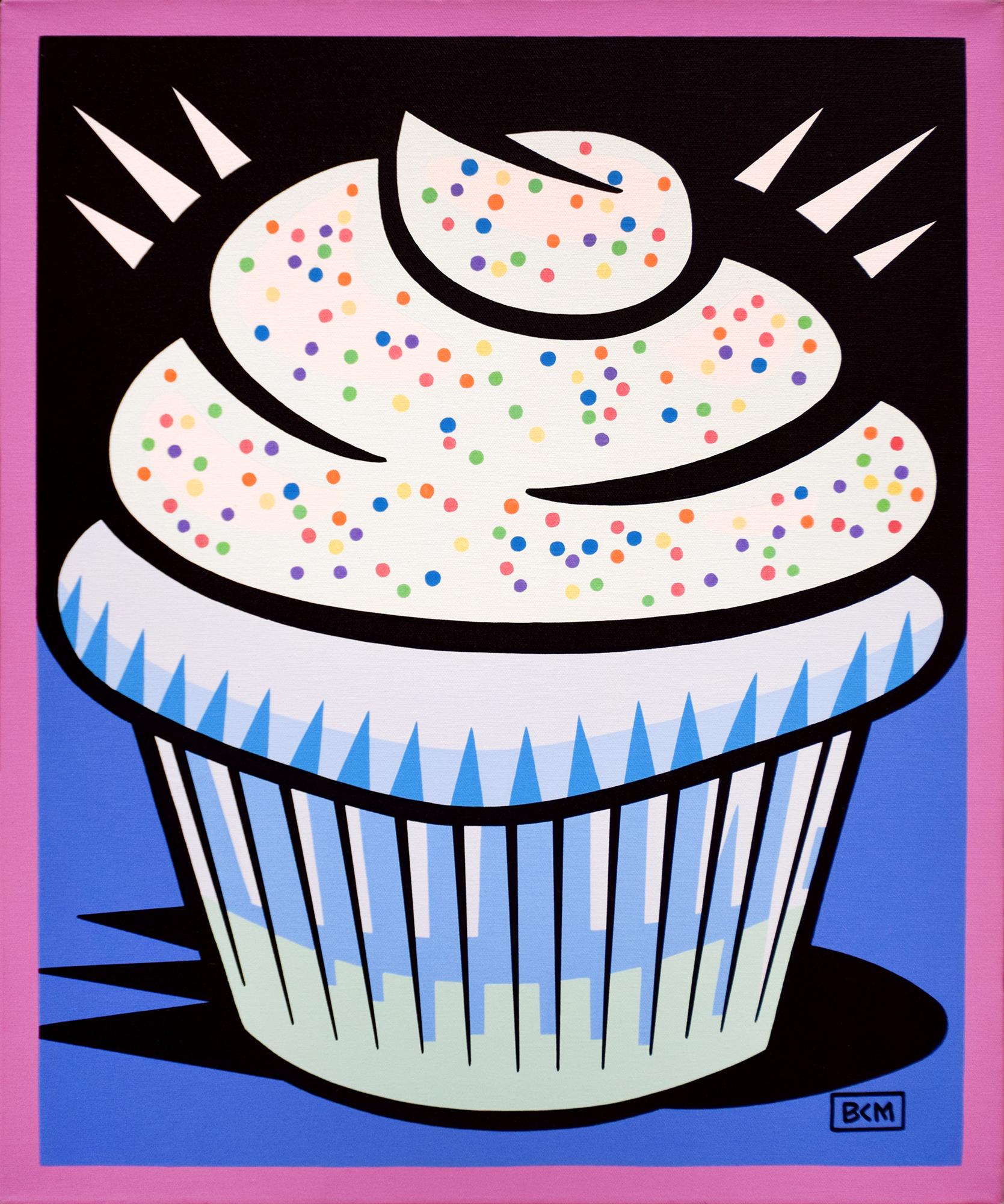 Burton Morris – Cup Cake Blue , 6557-006-022