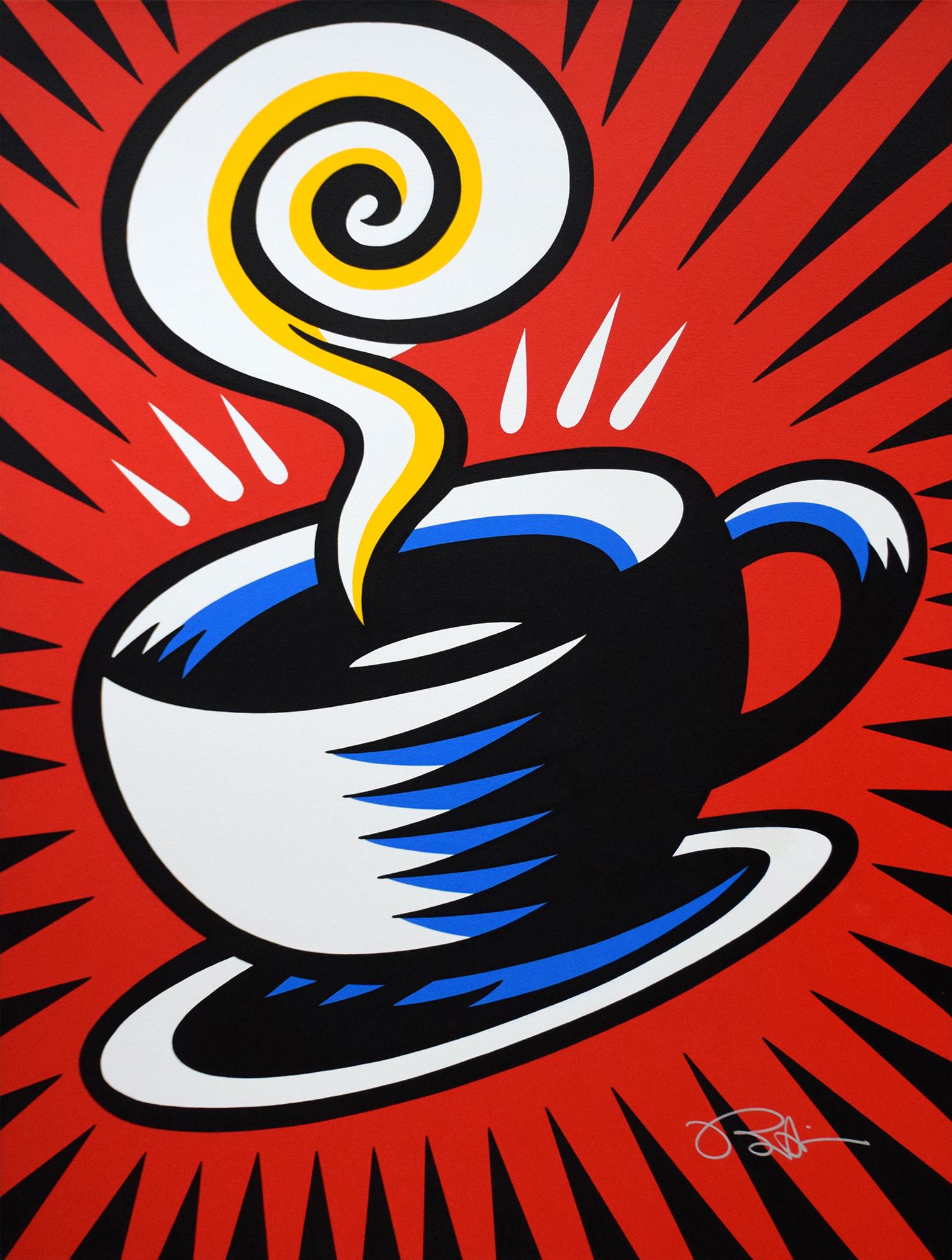 Burton Morris – Coffee Cup , 6557-006-048