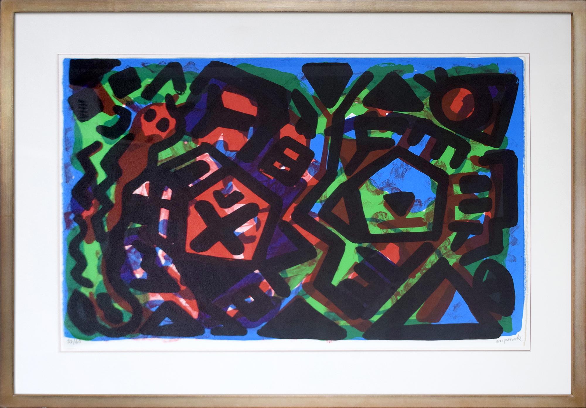 A. R. Penck - 2 Wege - 2 Probleme , 0592-008-015