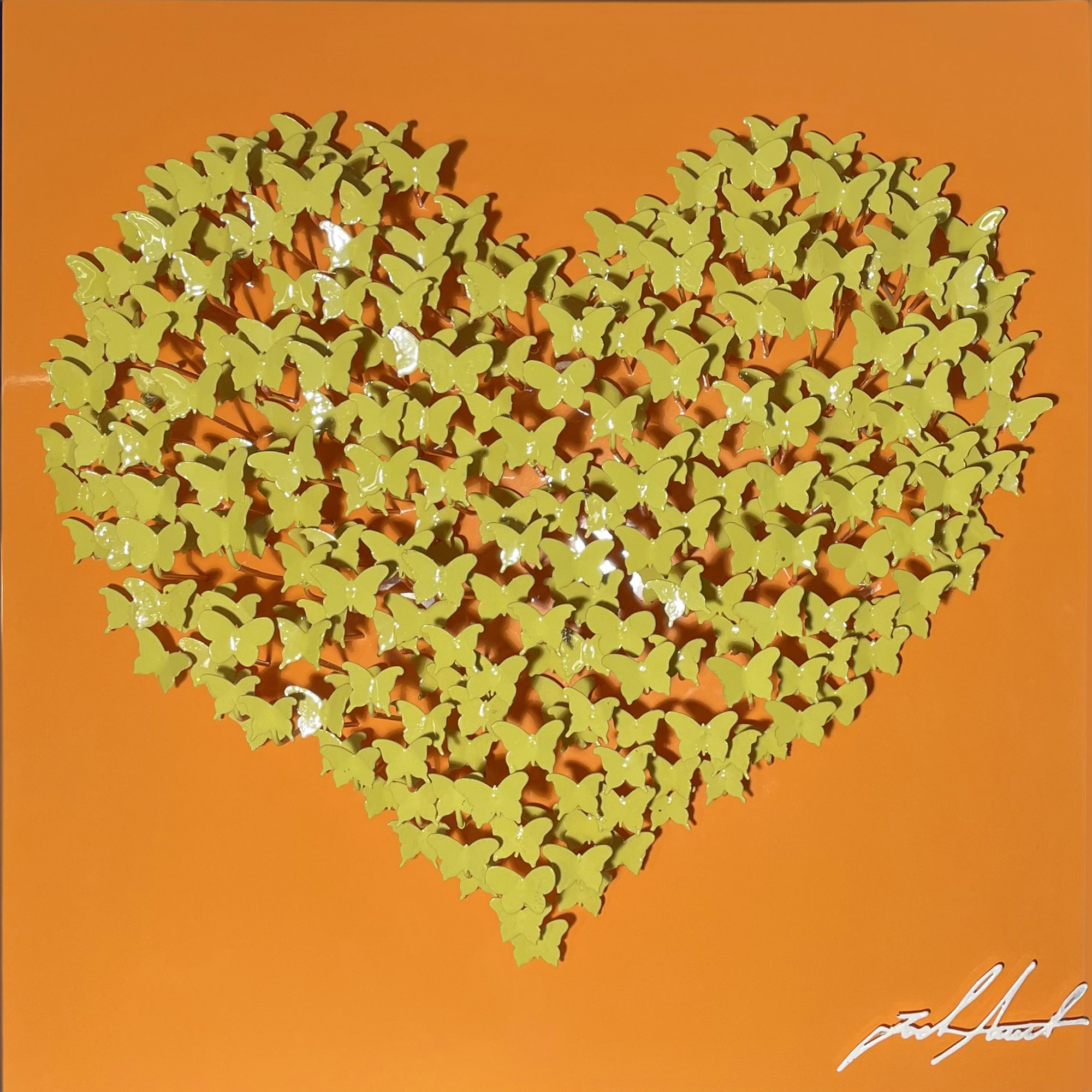 Joel Amit - Butterflies Heart (Gelb & Orange) , 6665-012-076