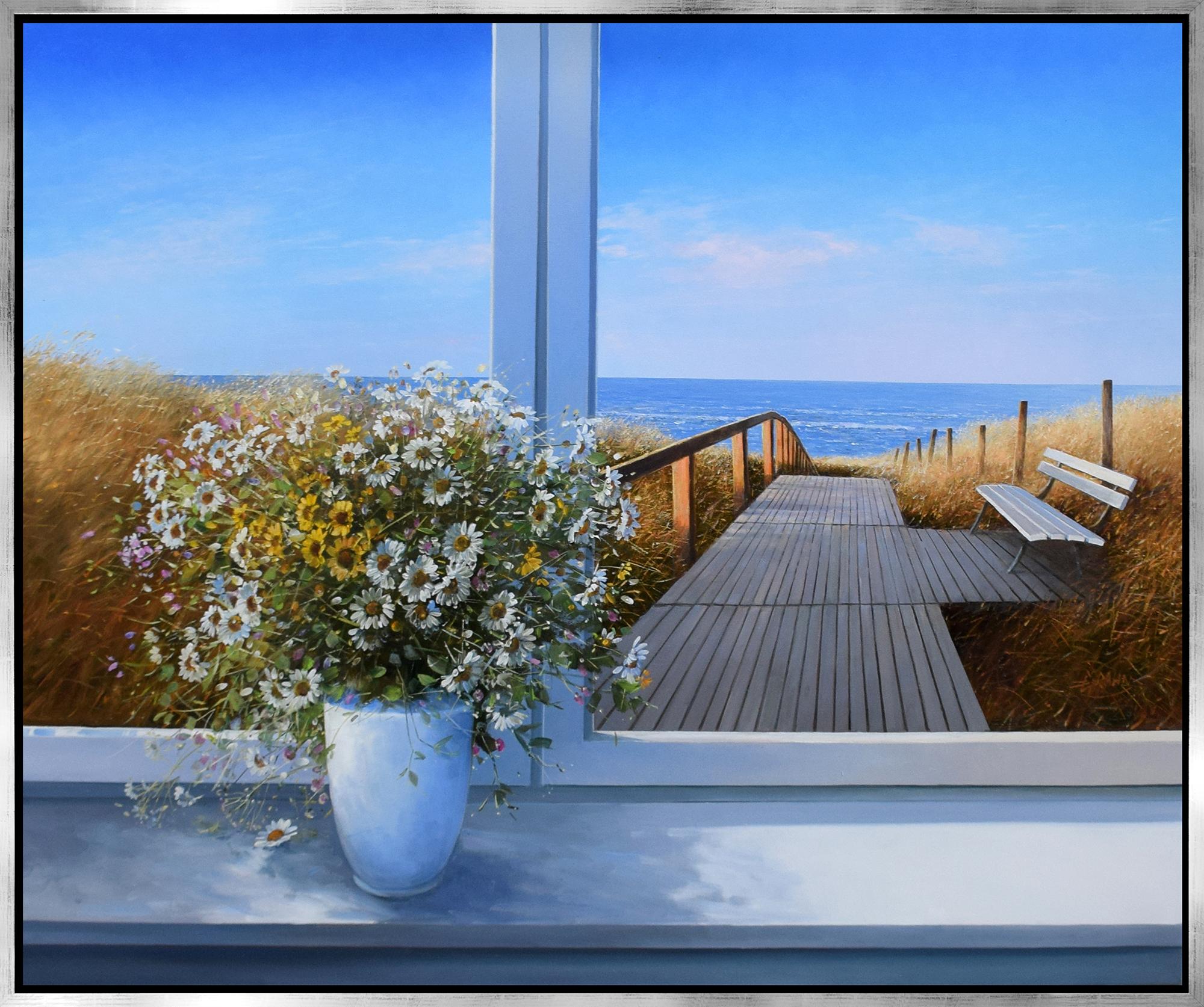 Detlef Rahn - Sommerstrauß am Fenster