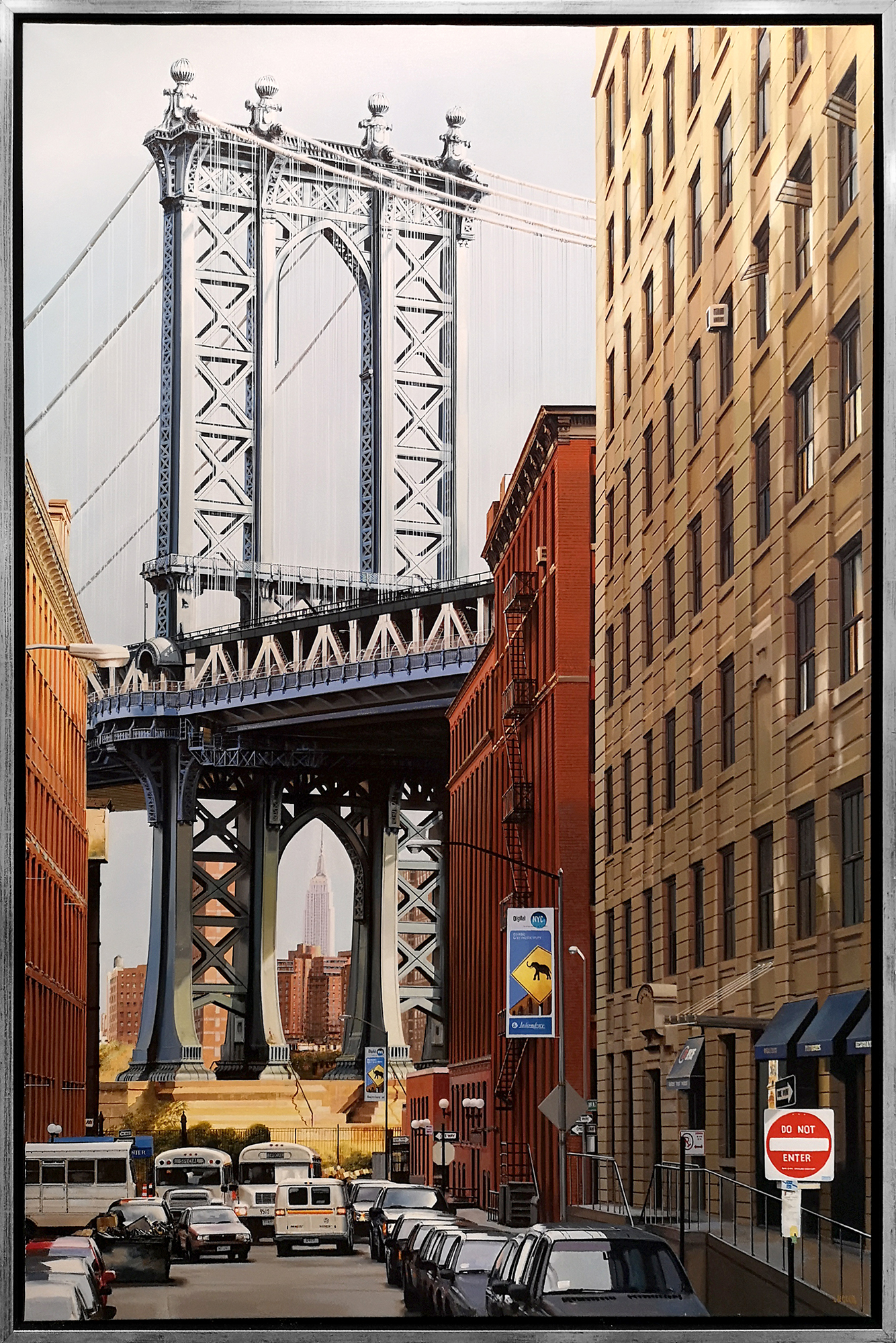 Luigi Rocca - Through the Steel Tower, Manhattan , 6855-006-078
