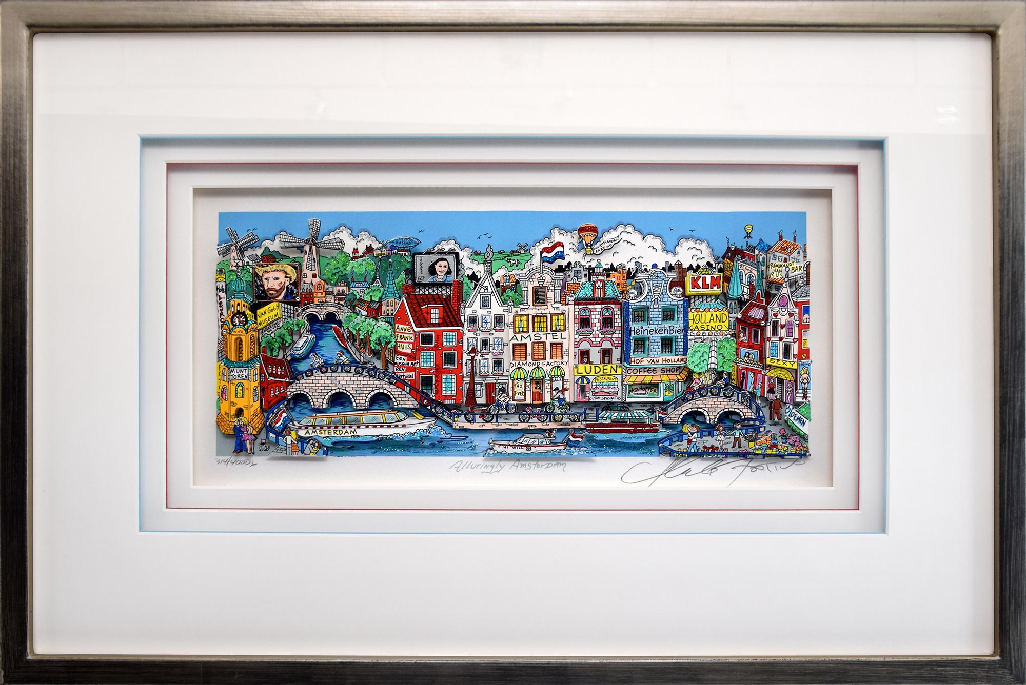 Charles Fazzino - Alluring Amsterdam , 5552-008-936