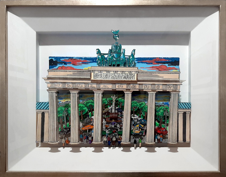 Charles Fazzino - Berlin Gate , 0552-012-149