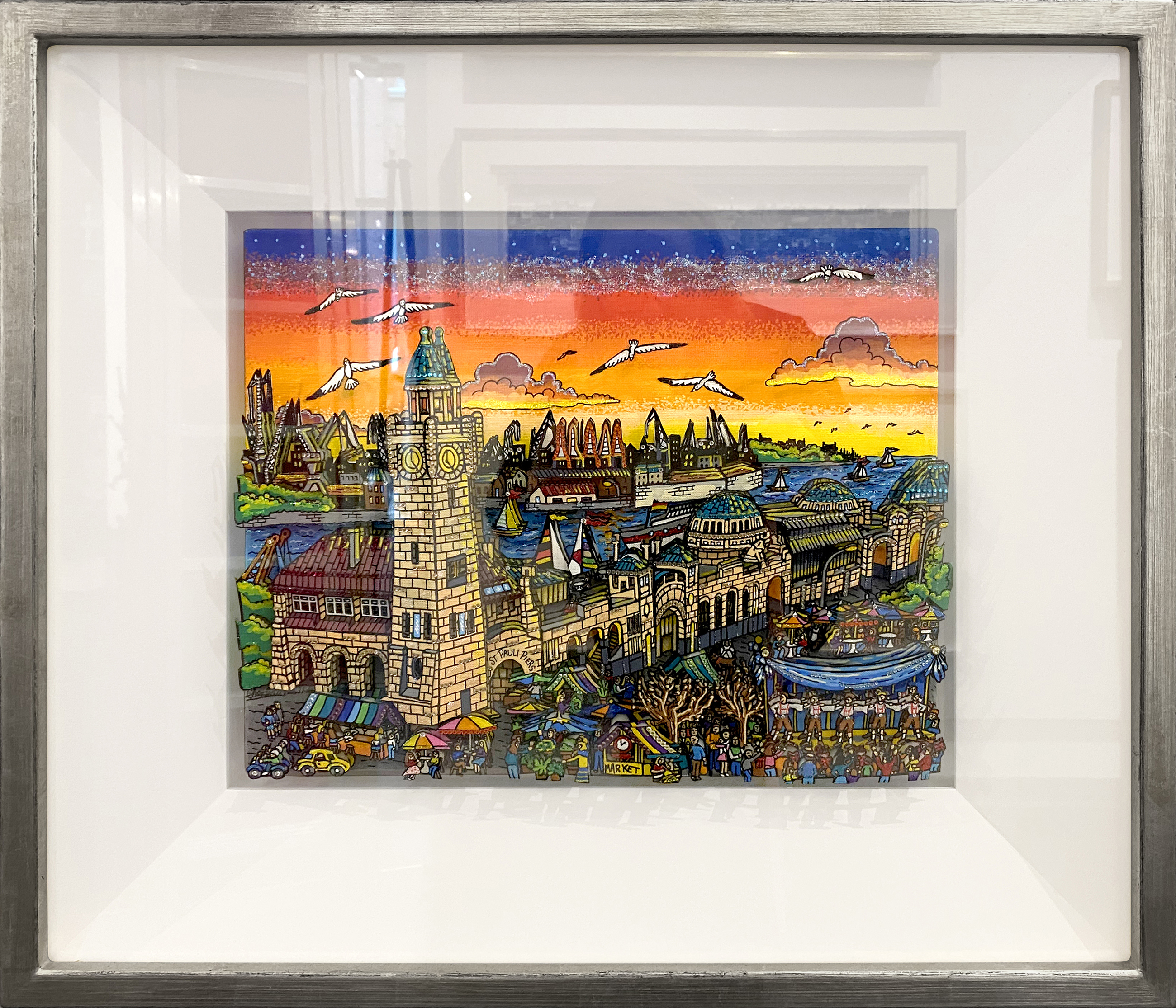 Charles Fazzino - A Hamburg Sunset , 0552-012-188