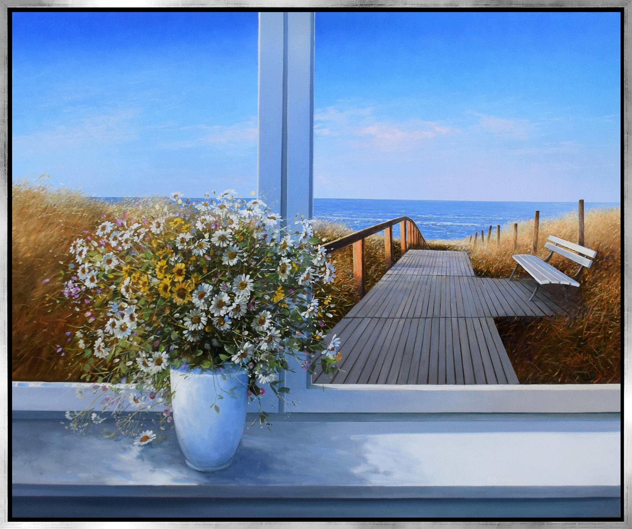 Detlef Rahn - Sommerstrauß am Fenster , 7838-006-038