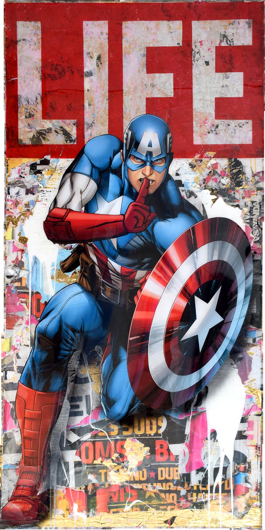 Bram Reijnders - Captain America (LIFE) , 8031-012-102