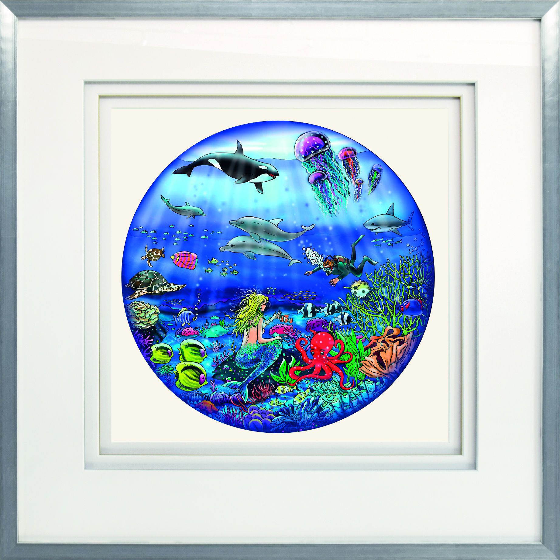 Charles Fazzino - See the Sea