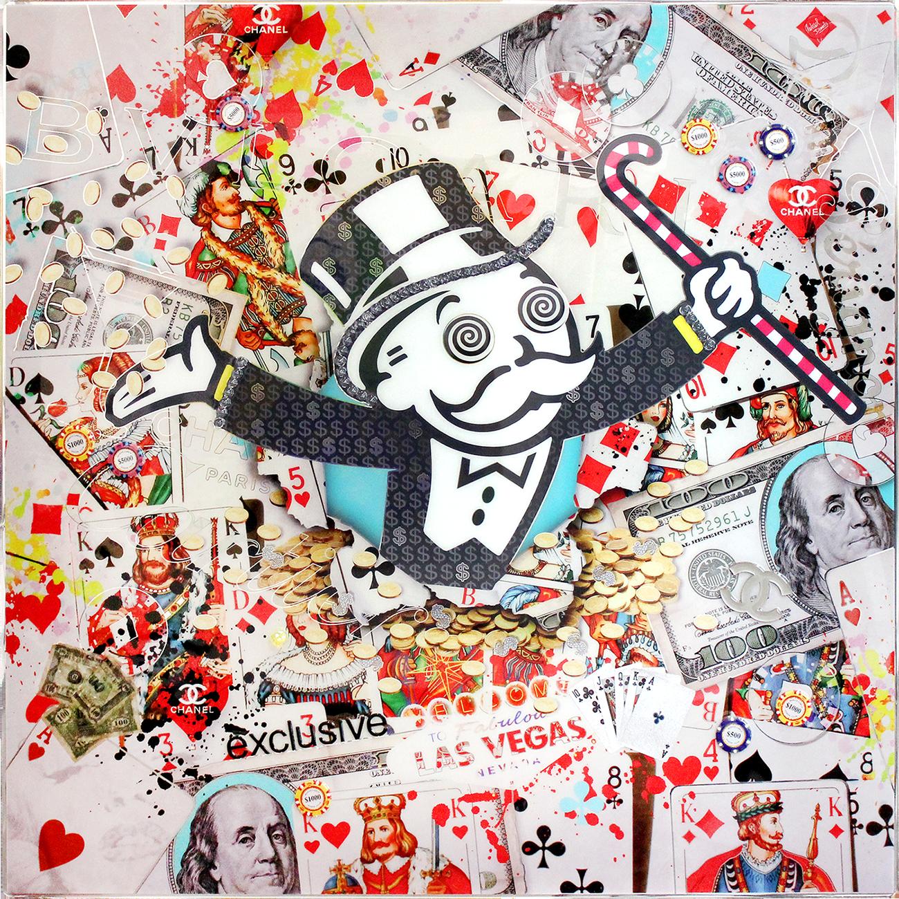 Michael Daniels - Mr. Monopoly (Unikat) , 4508-016-002