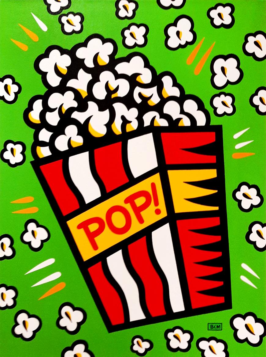 Burton Morris – Popcorn - Green , 6557-006-020