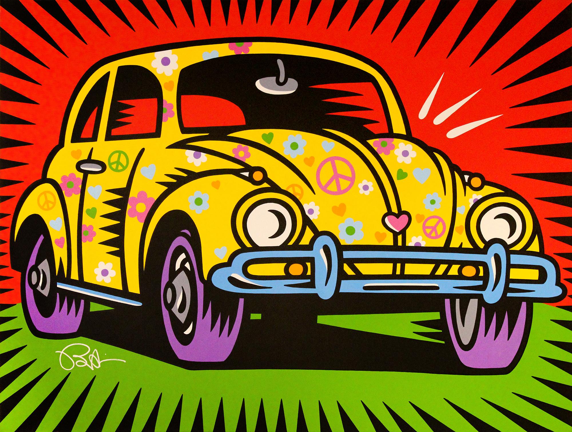 Burton Morris – Love Bug (Yellow) , 6557-006-039