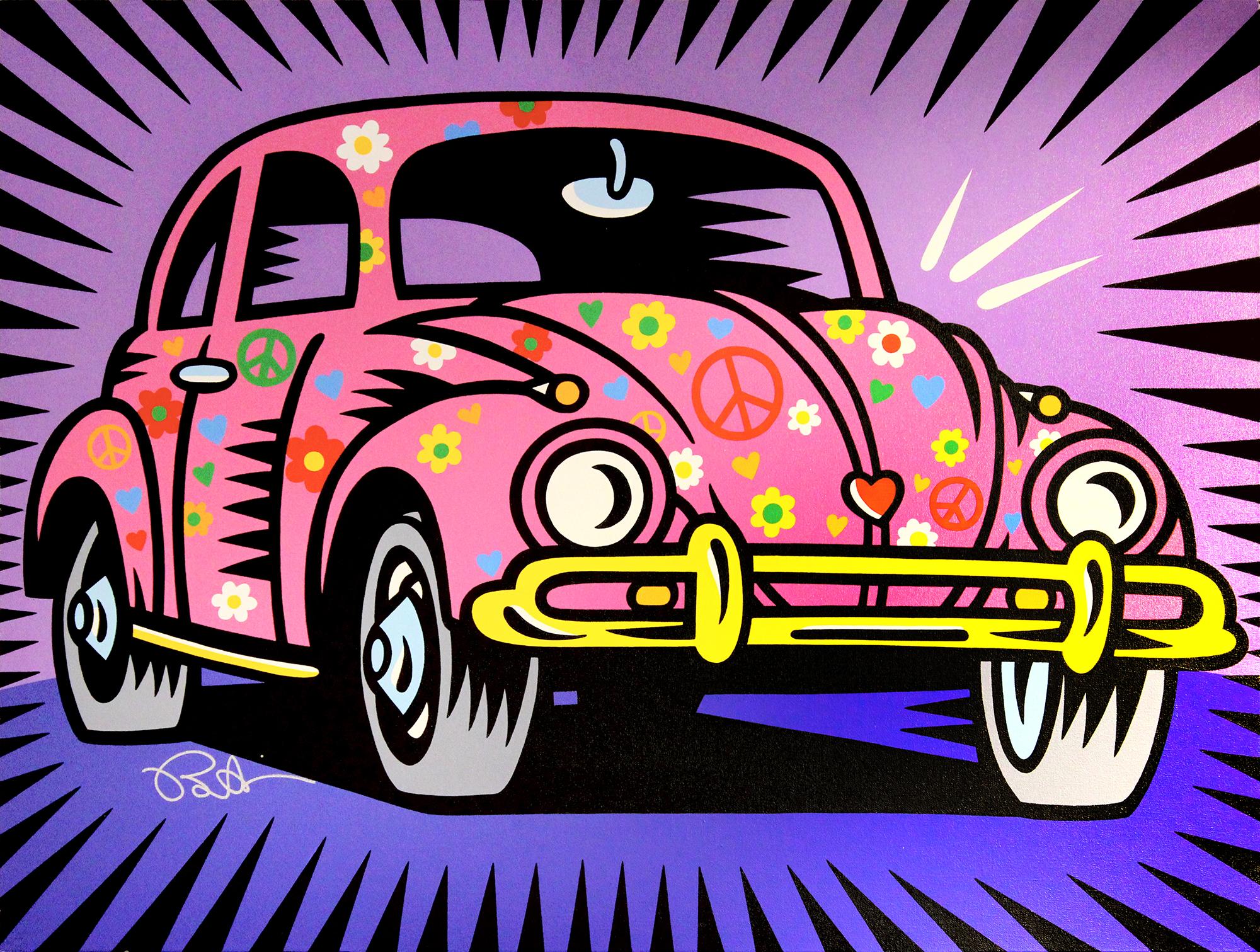 Burton Morris – Love Bug (Pink) , 6557-006-041