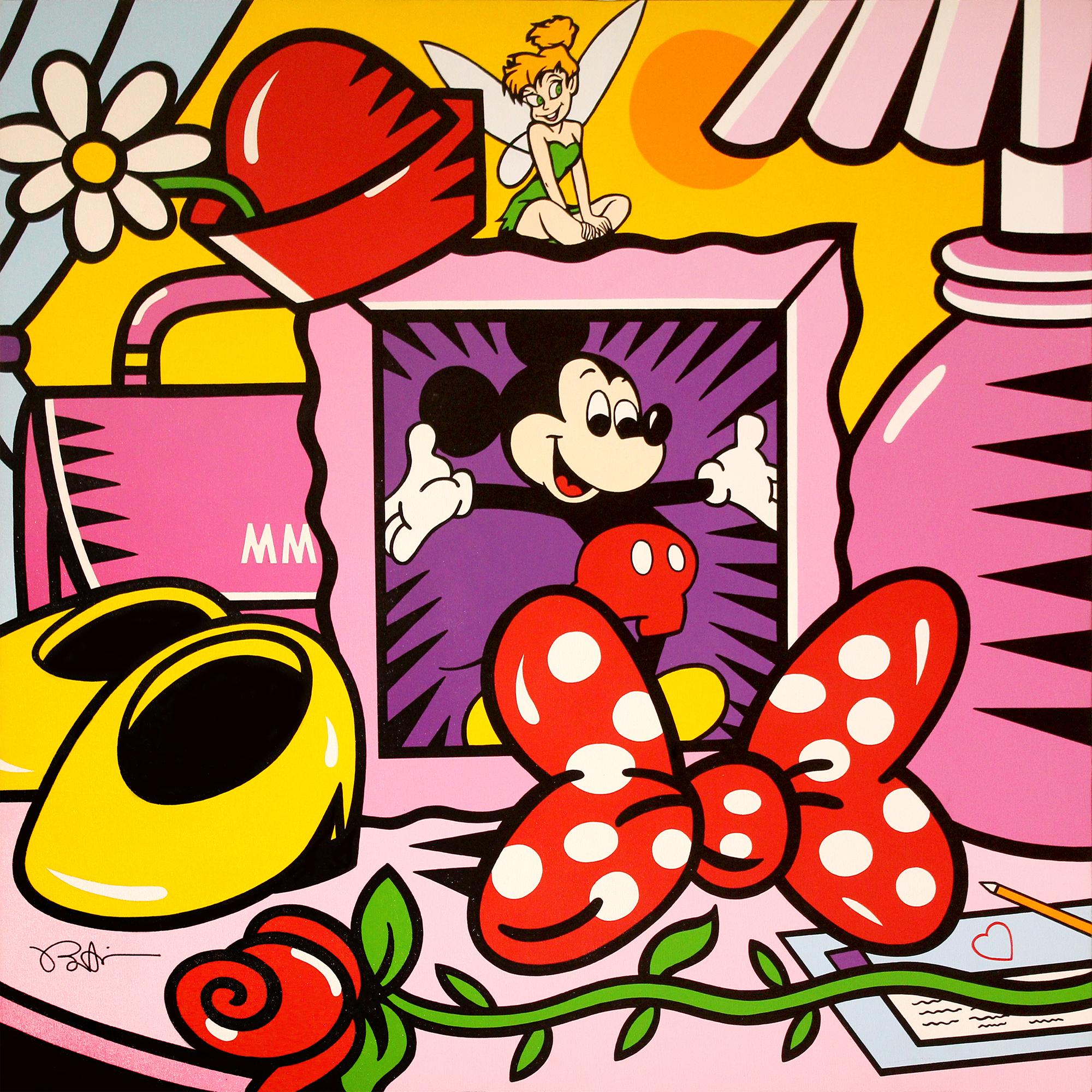 Burton Morris – Disney, Minnie Nightstand , 6557-006-047