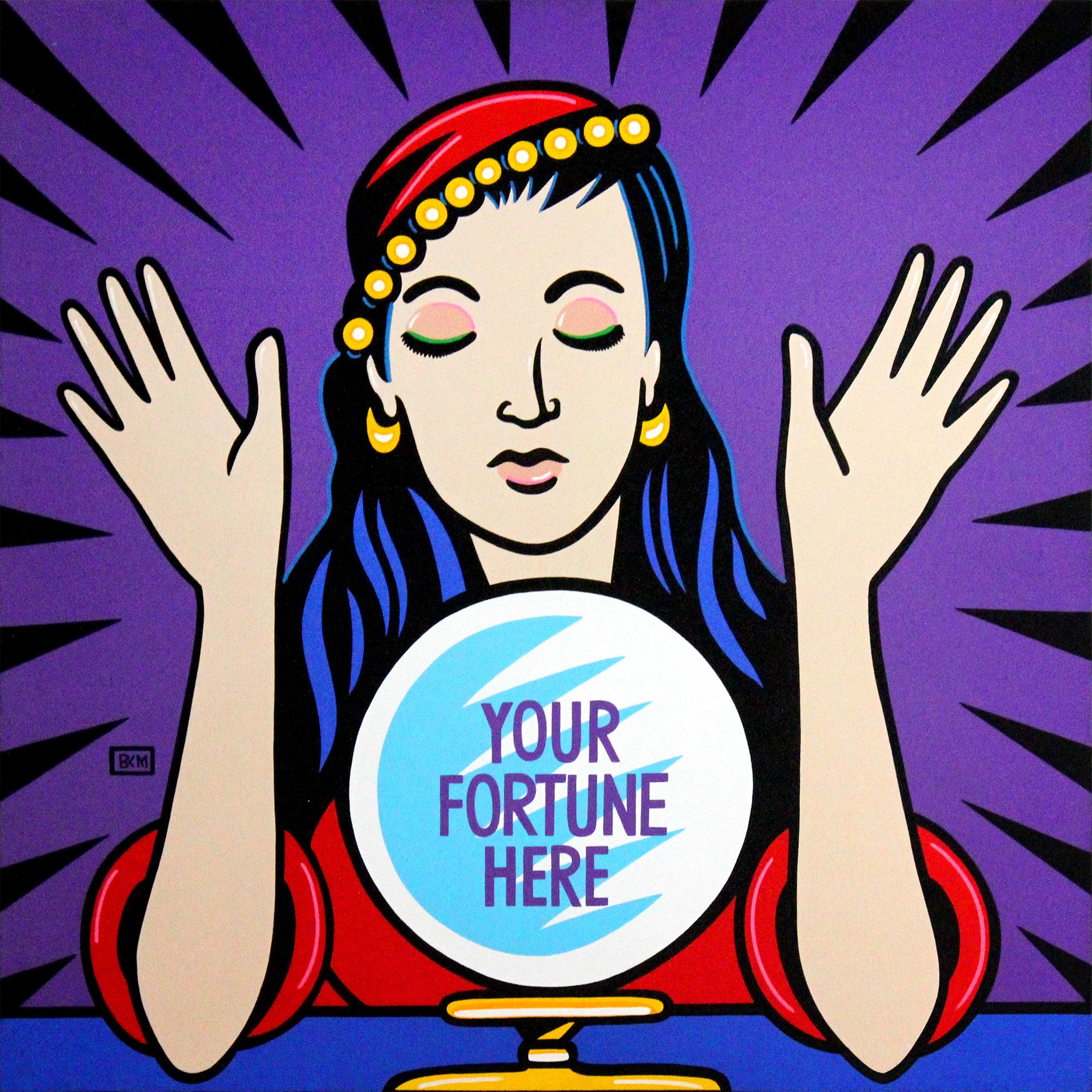 Burton Morris – Your Fortune here , 6557-012-016