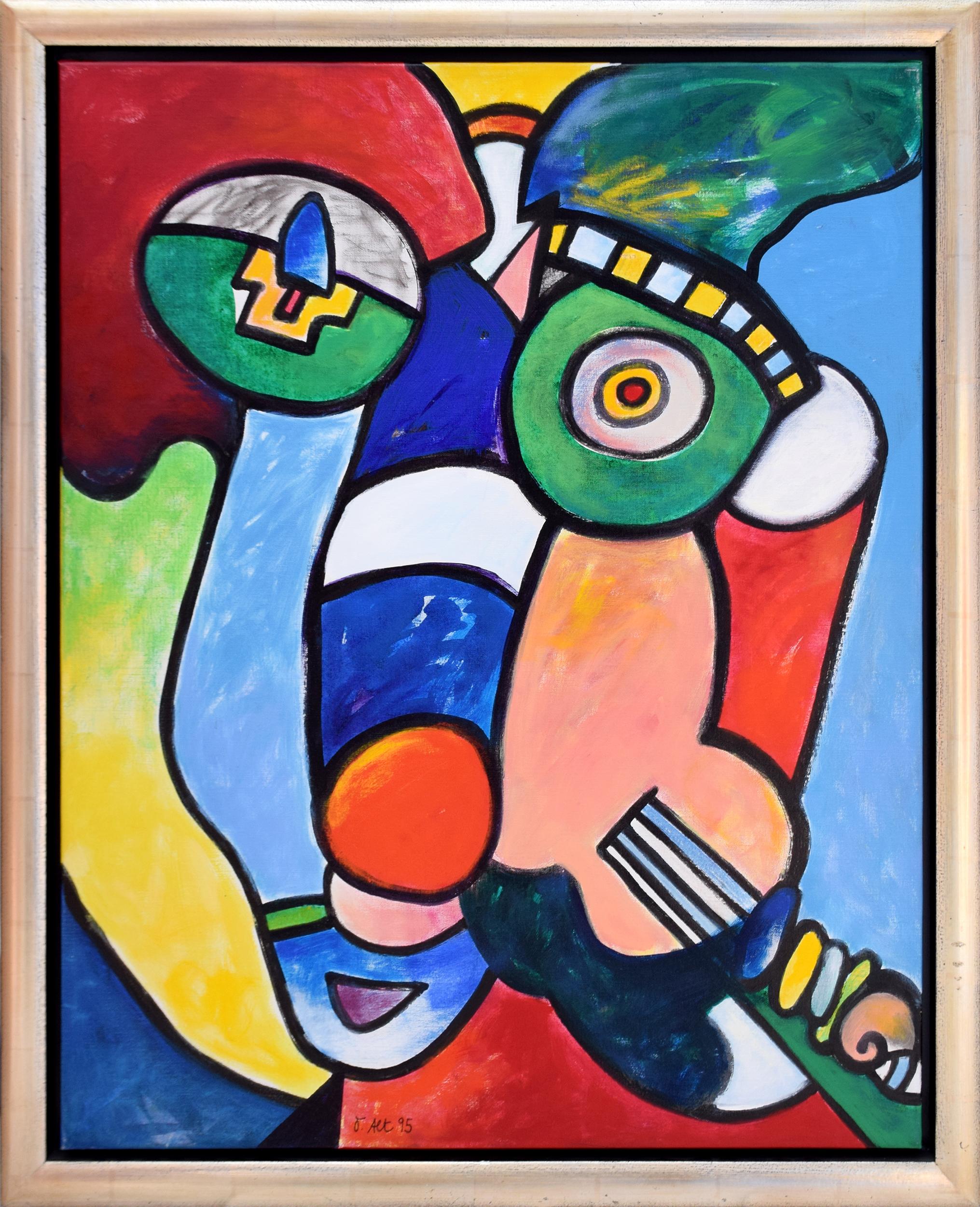 Otmar Alt - Die Geige (Unikat) , 0522-012-032