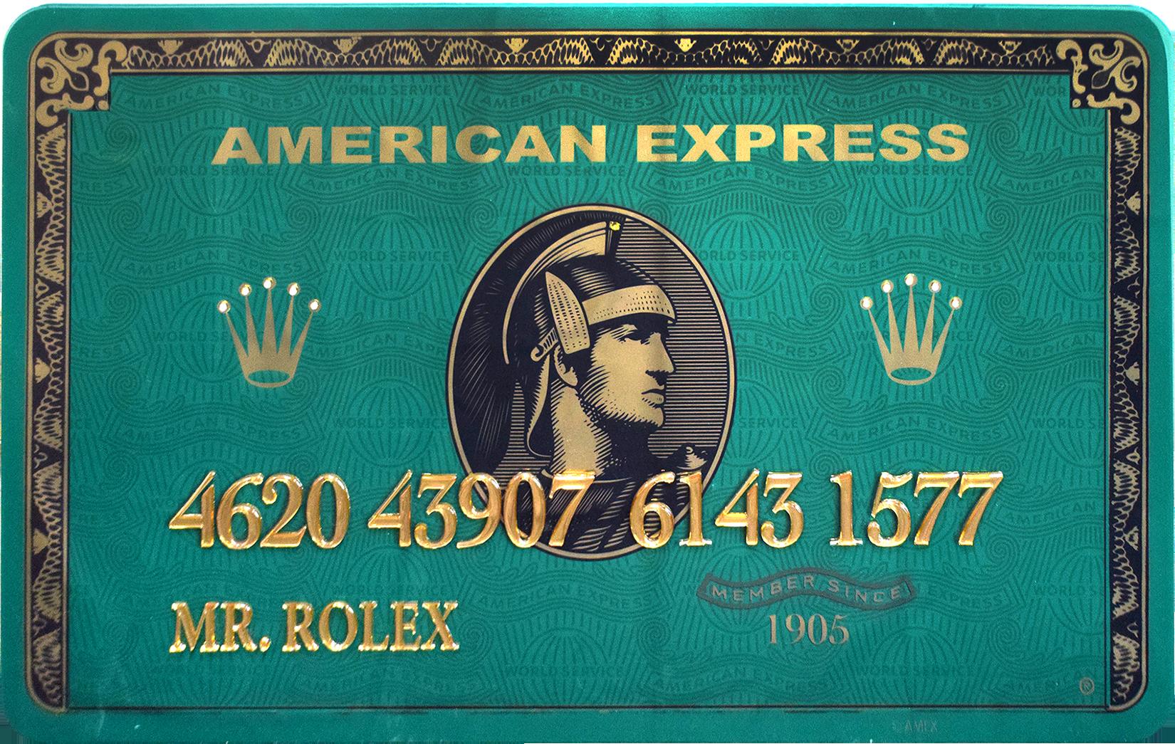 Diederik - AMEX (Mr. Rolex) , 4504-016-300
