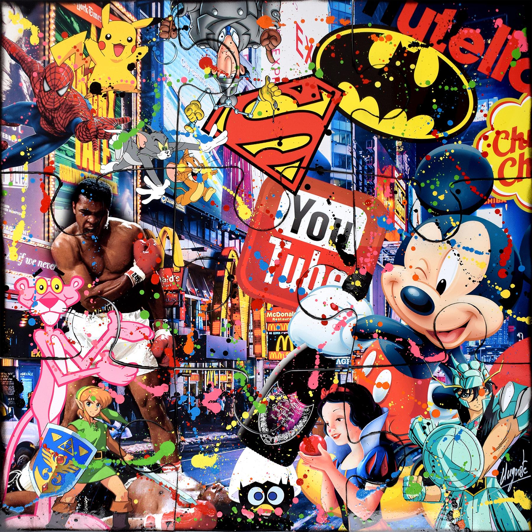 Auguste - Ali Pop Art Puzzle , 9884-012-035