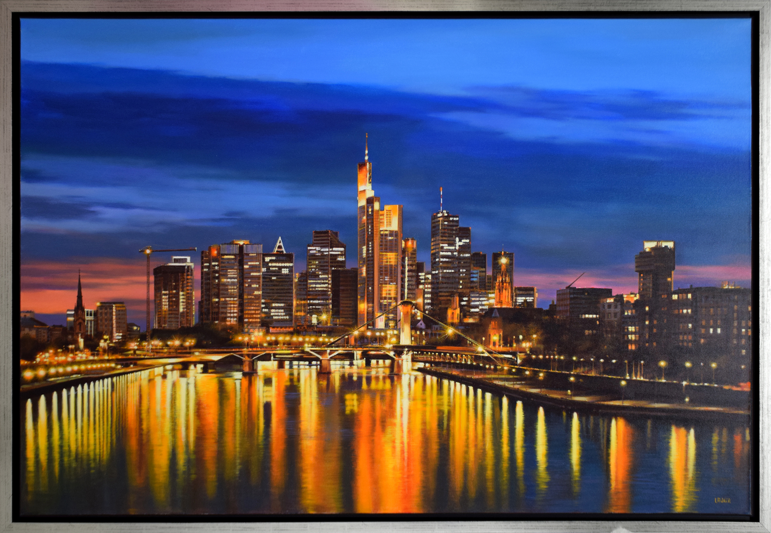 Luigi Rocca - Frankfurt by Night , 6855-006-359