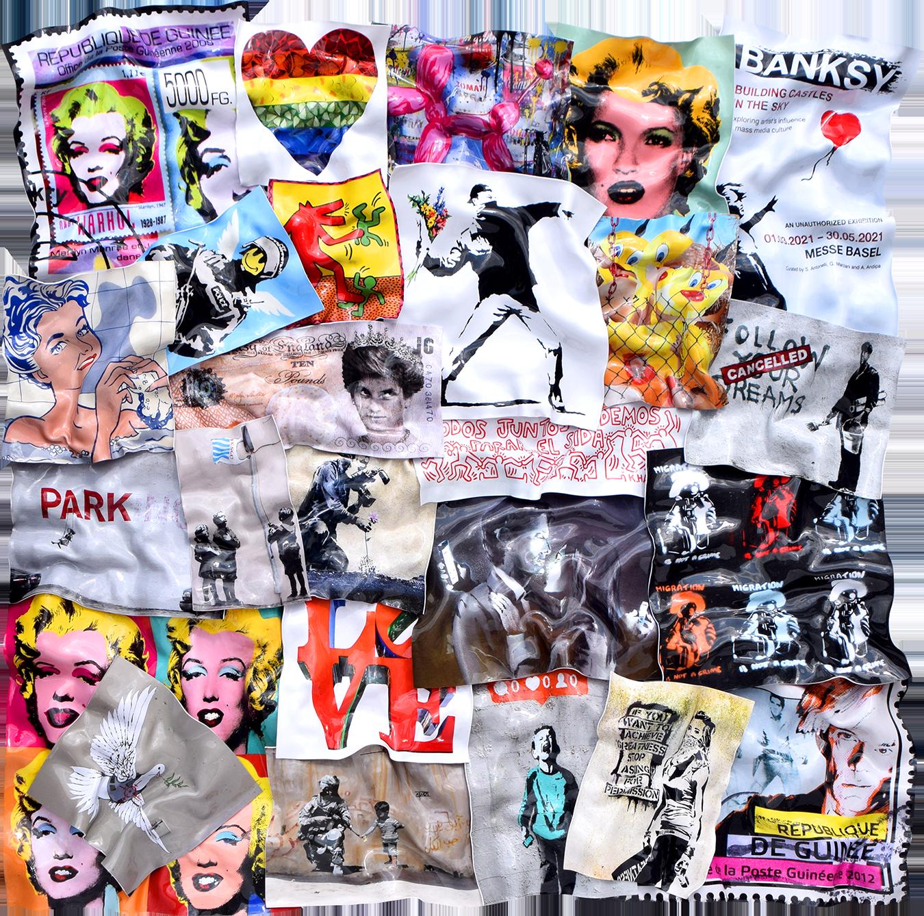 Floyd Douglas - Marilyn with dark Lips , 0656-012-115