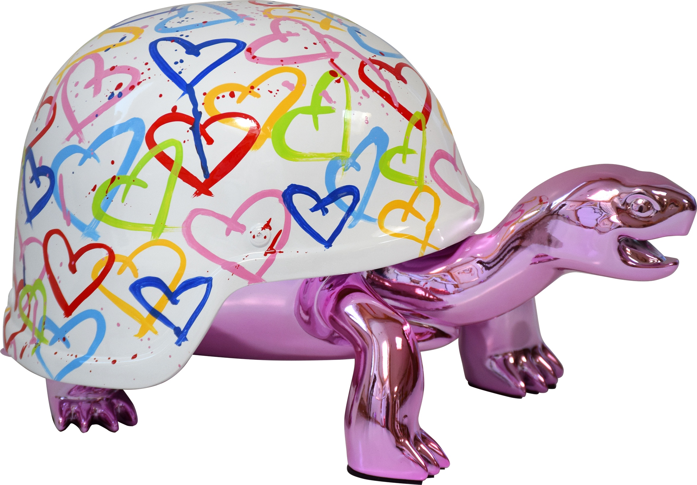 Diederik - Turtle (Pink Peace World Love) , 4504-011-042