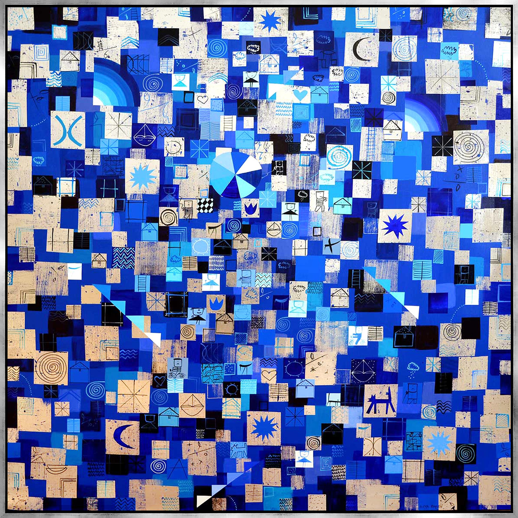 Iliya Zhelev - Silver and Blue , 0509-012-837