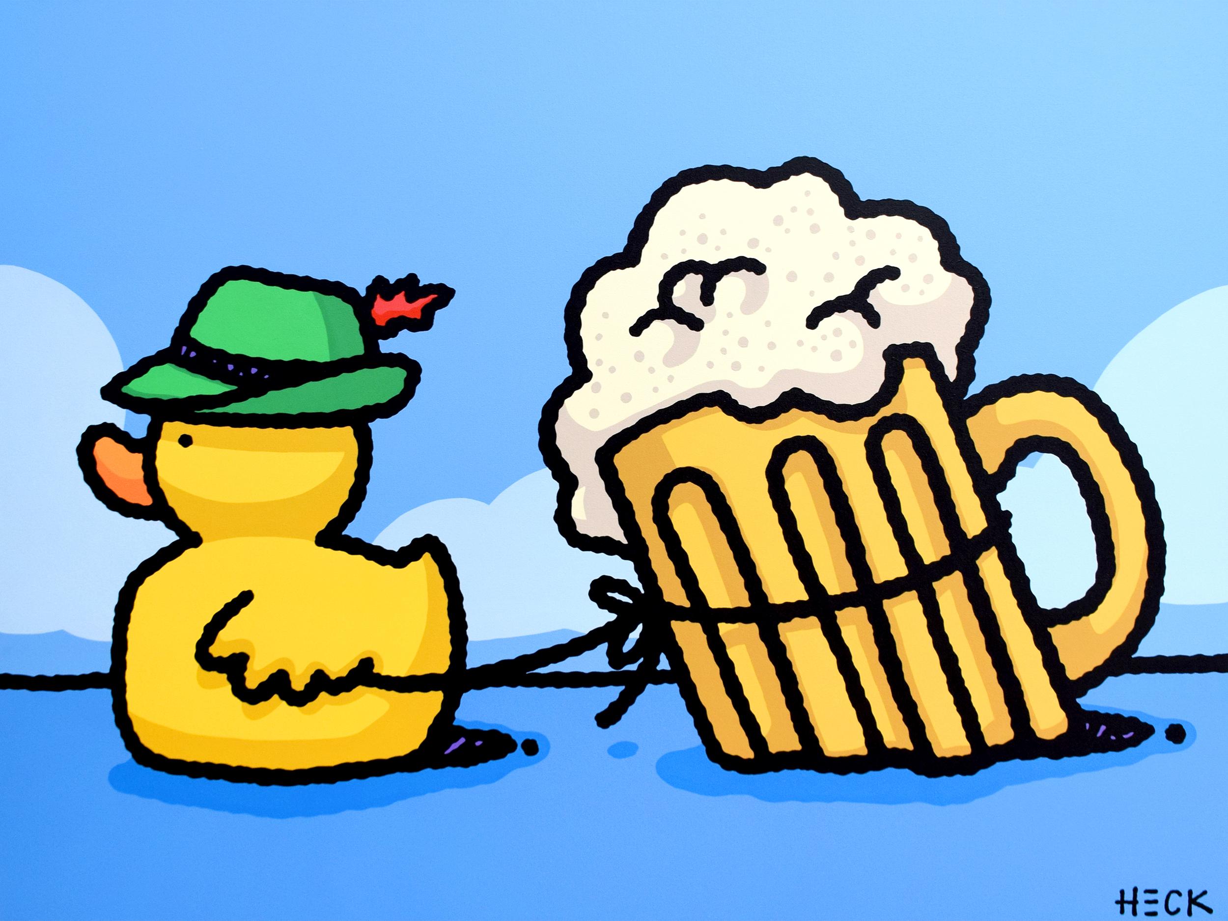 Ed Heck - Beer Tug Duck , 6575-012-108