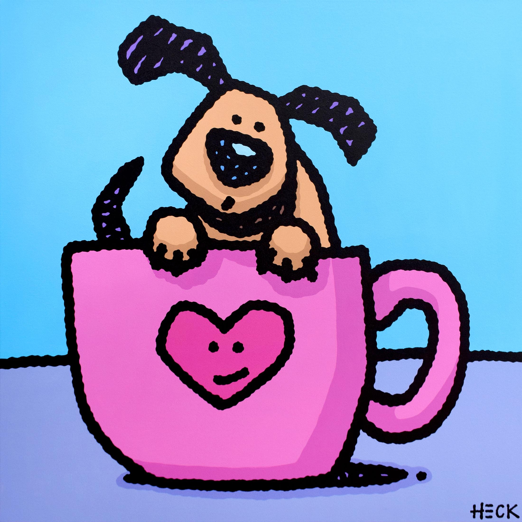 Ed Heck - Tea Pup , 6575-012-104