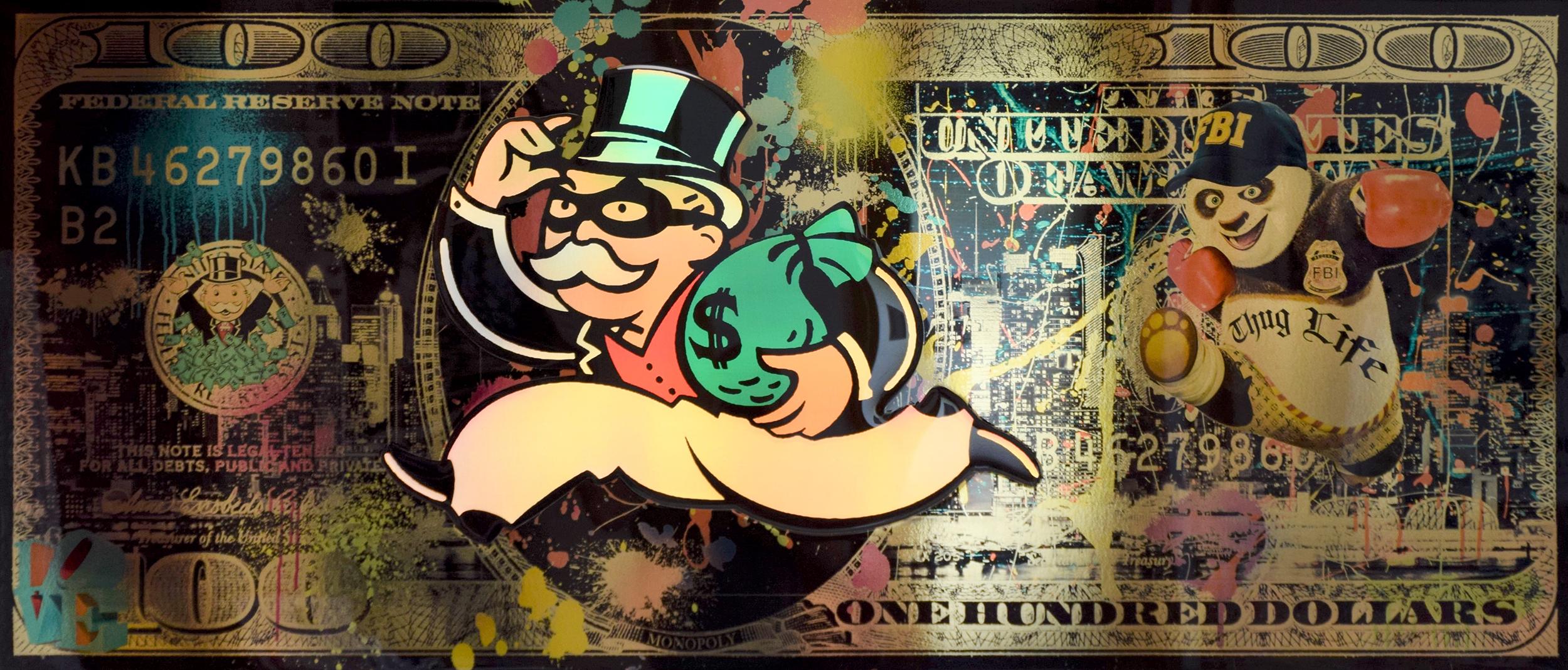 Diederik - Mr. Bandit Monopoly , 4504-016-260