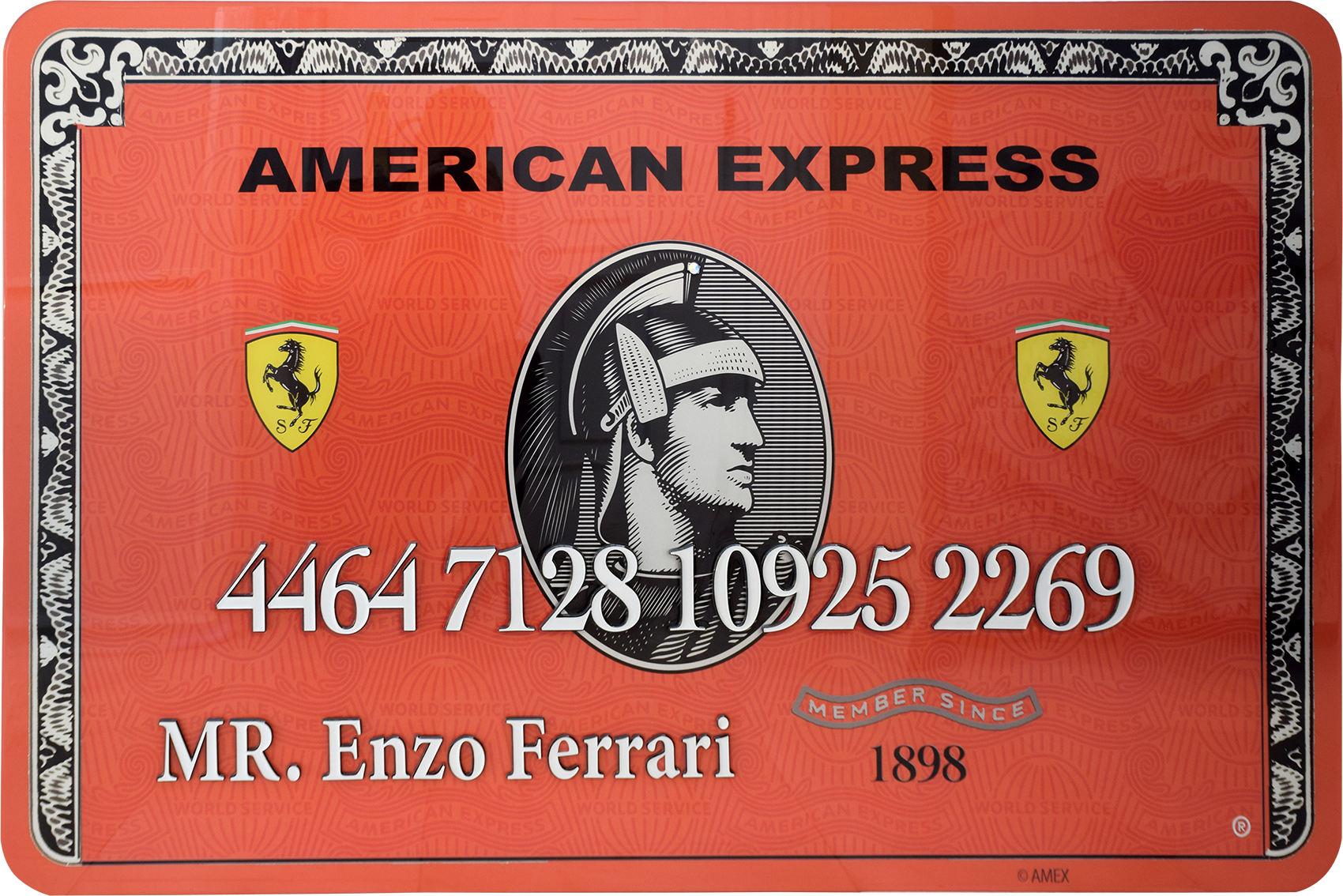 Diederik - AMEX (Mr. Enzo Ferrari) , 4504-016-264-266