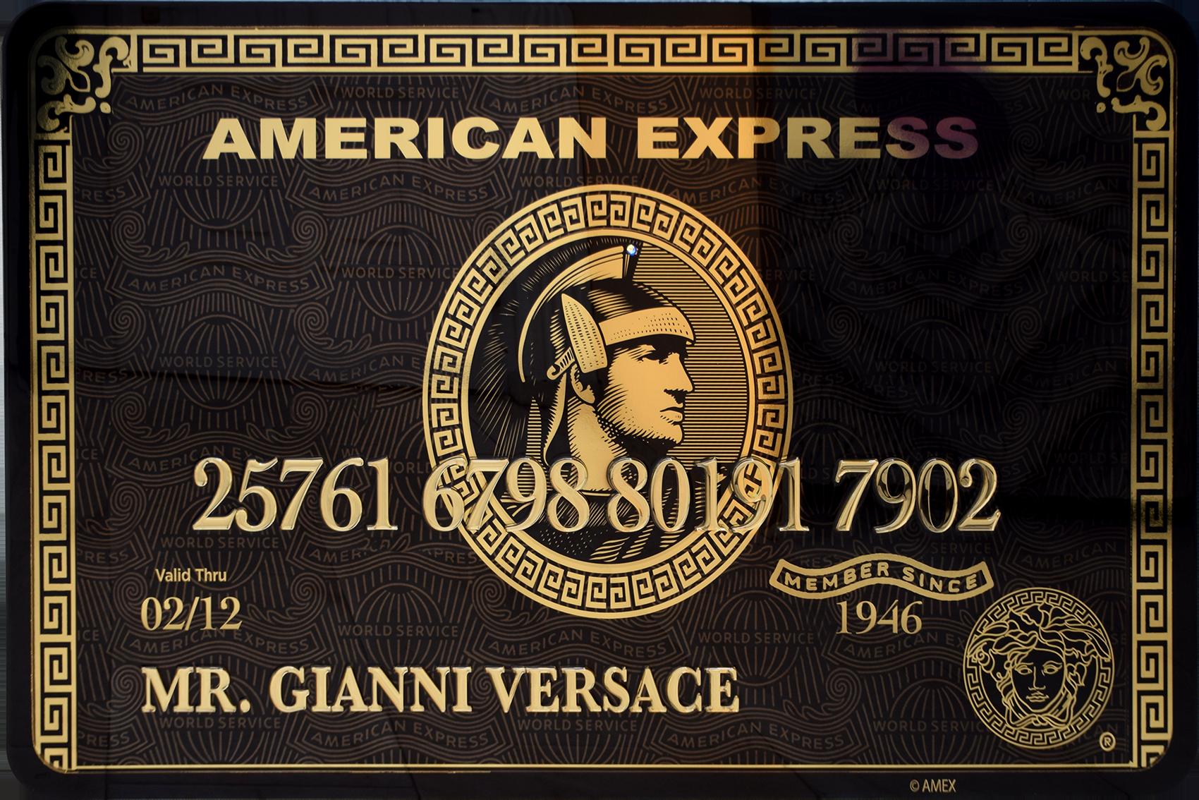 Diederik - AMEX (Mr. Gianni Versace) , 4504-016-263-269