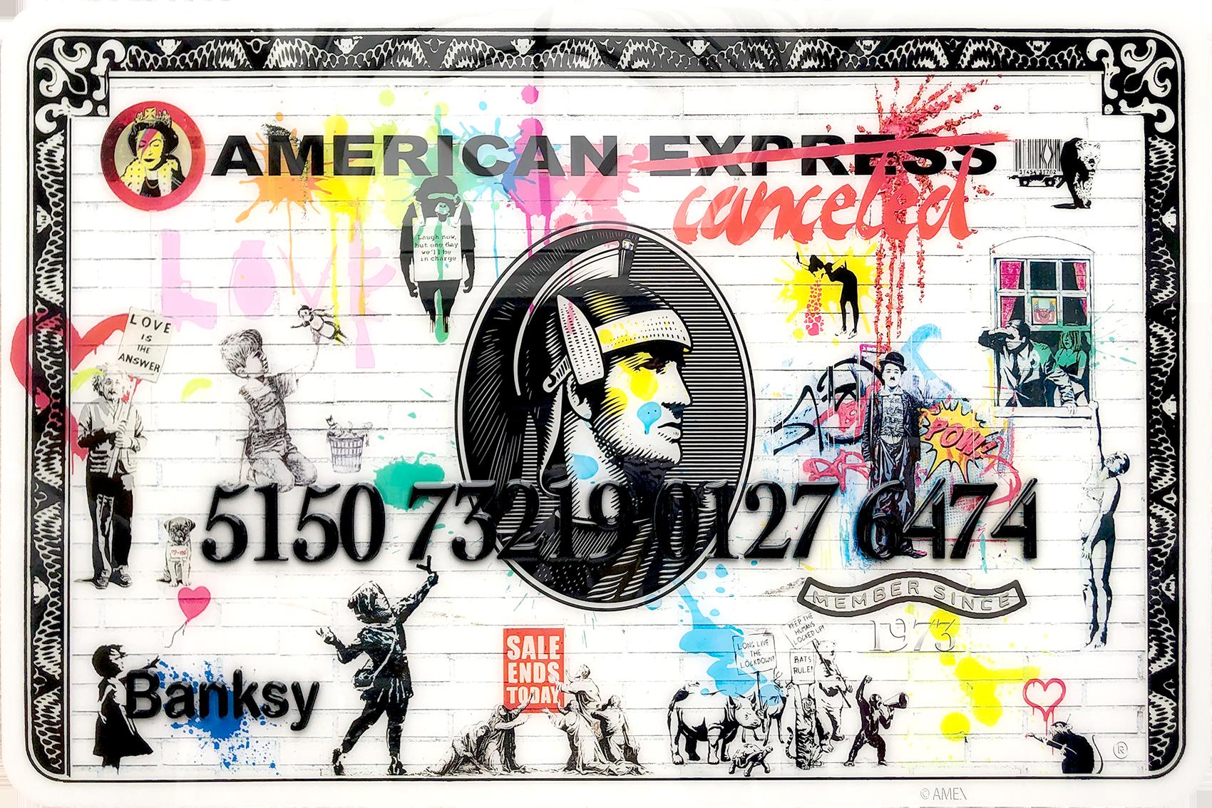 Diederik - AMEX (Mr. Banksy) , 4504-016-303