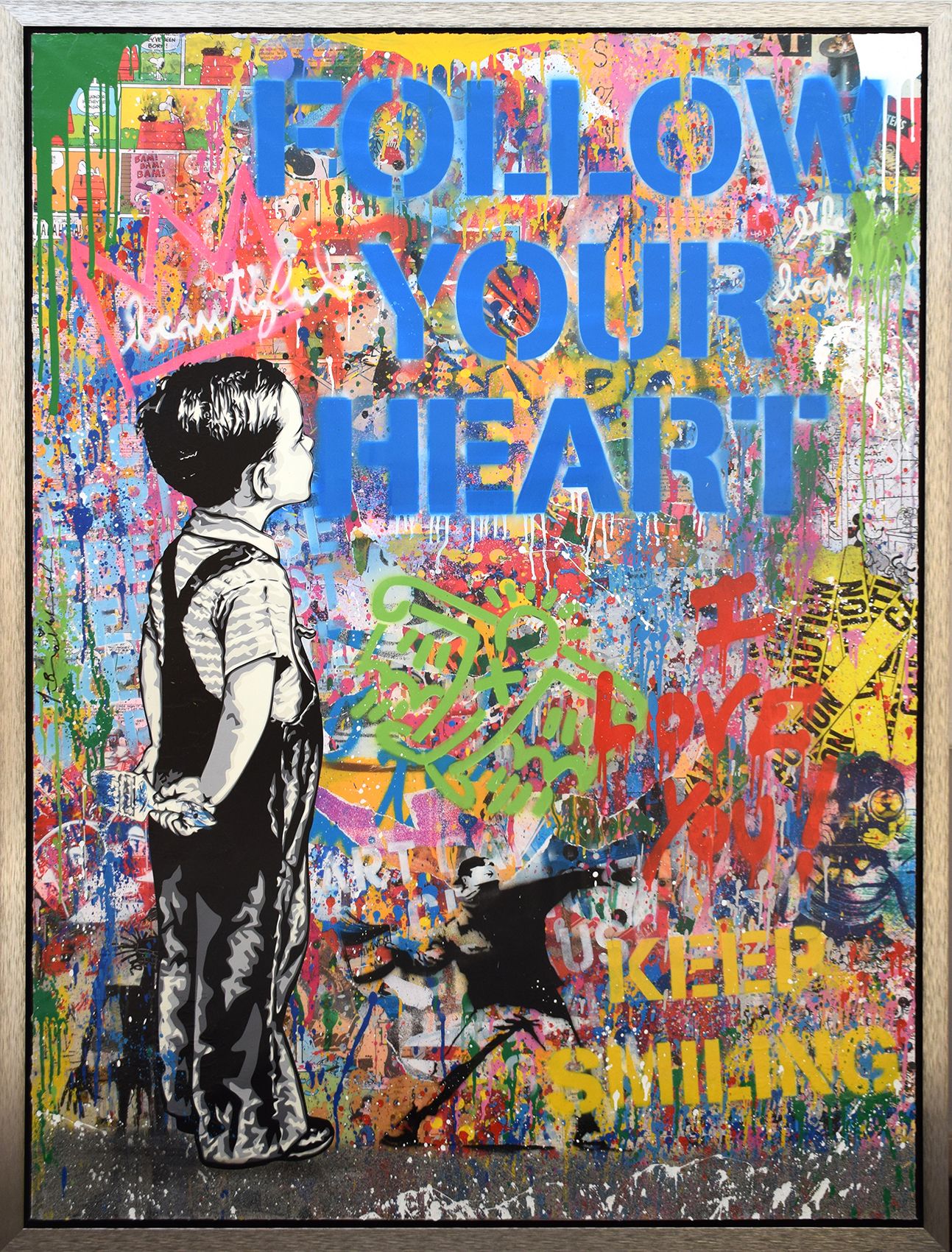 Mr. Brainwash - With all my Love (Follow your Heart) , 9003-012-151