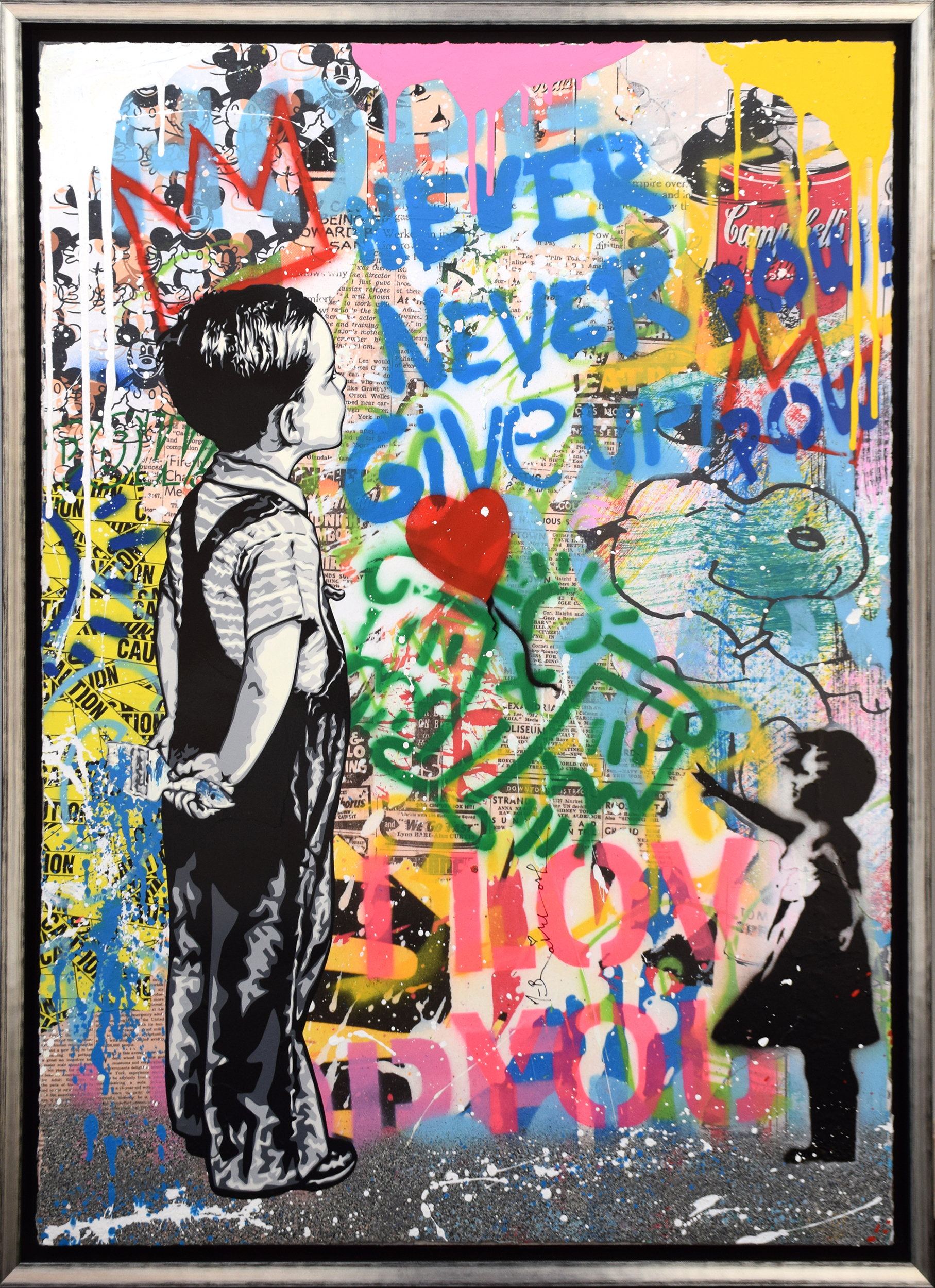 Mr. Brainwash - With all my Love (Little King) , 9003-012-155