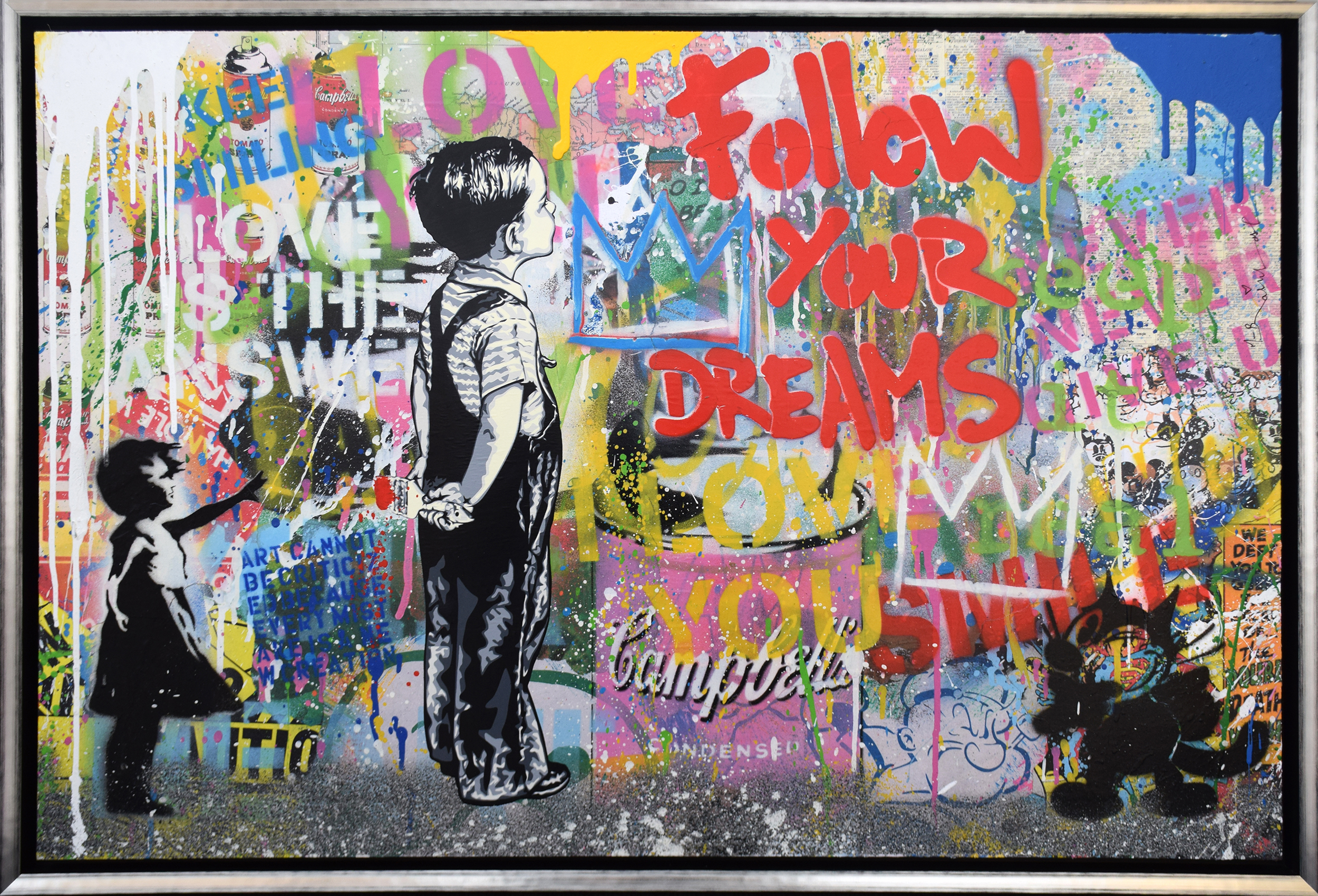 Mr. Brainwash - With all my Love (Cat and Ballon Girl) , 9003-012-164