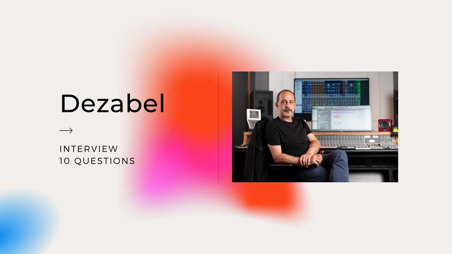 Today we would like to introduce you to Dezabel, Songwriter and producer expertly fuses pop, jazz, soul, and electronica to make instantly lovable tracks. Collaborating with singers from around the world, he creates a sound with universal appeal. His latest release, 'When It Comes To You,' showcases his gift for laid back grooves and irresistible melodies.