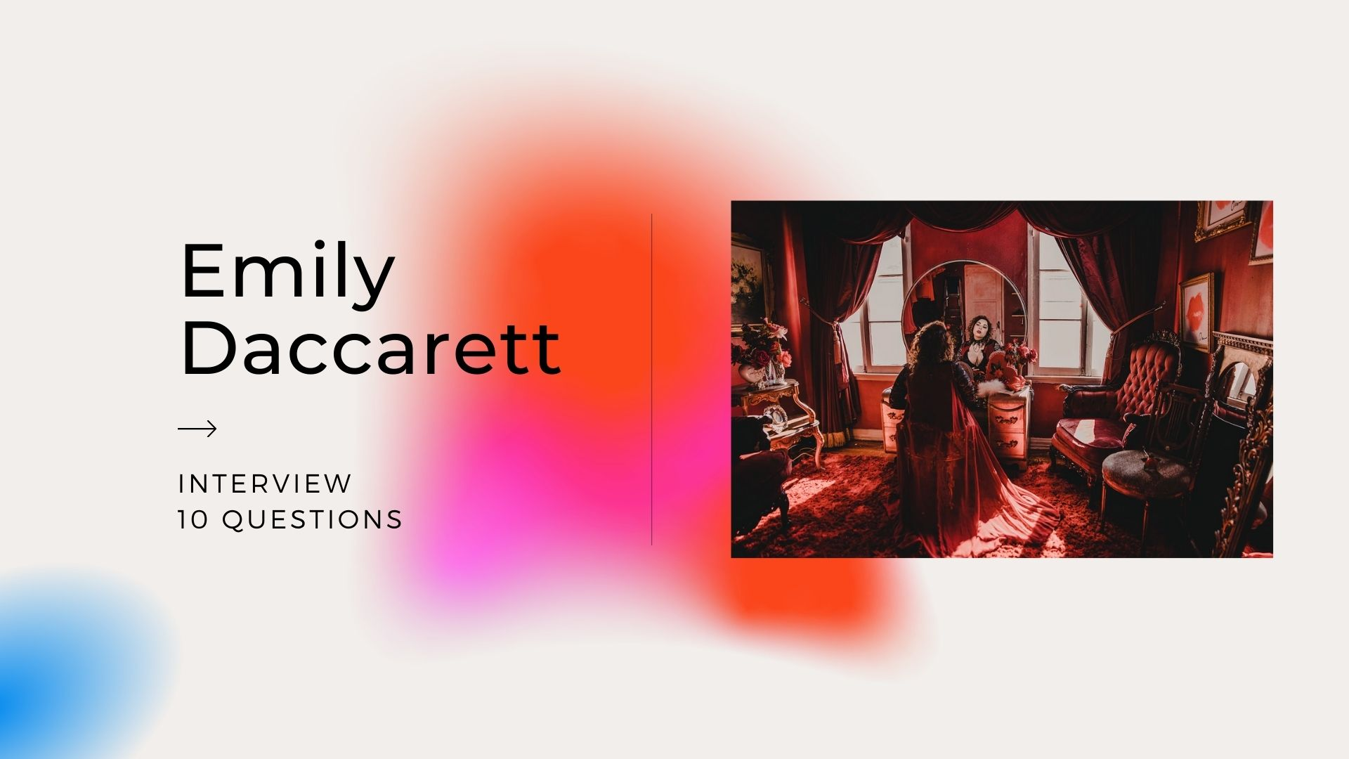 Today we would like to introduce you to Emily Daccarett, fashion and music can not be separated. Daccarett creates an immersive world of storytelling through music, film, and fashion. Each artistic direction begins with a beat that forms a story.