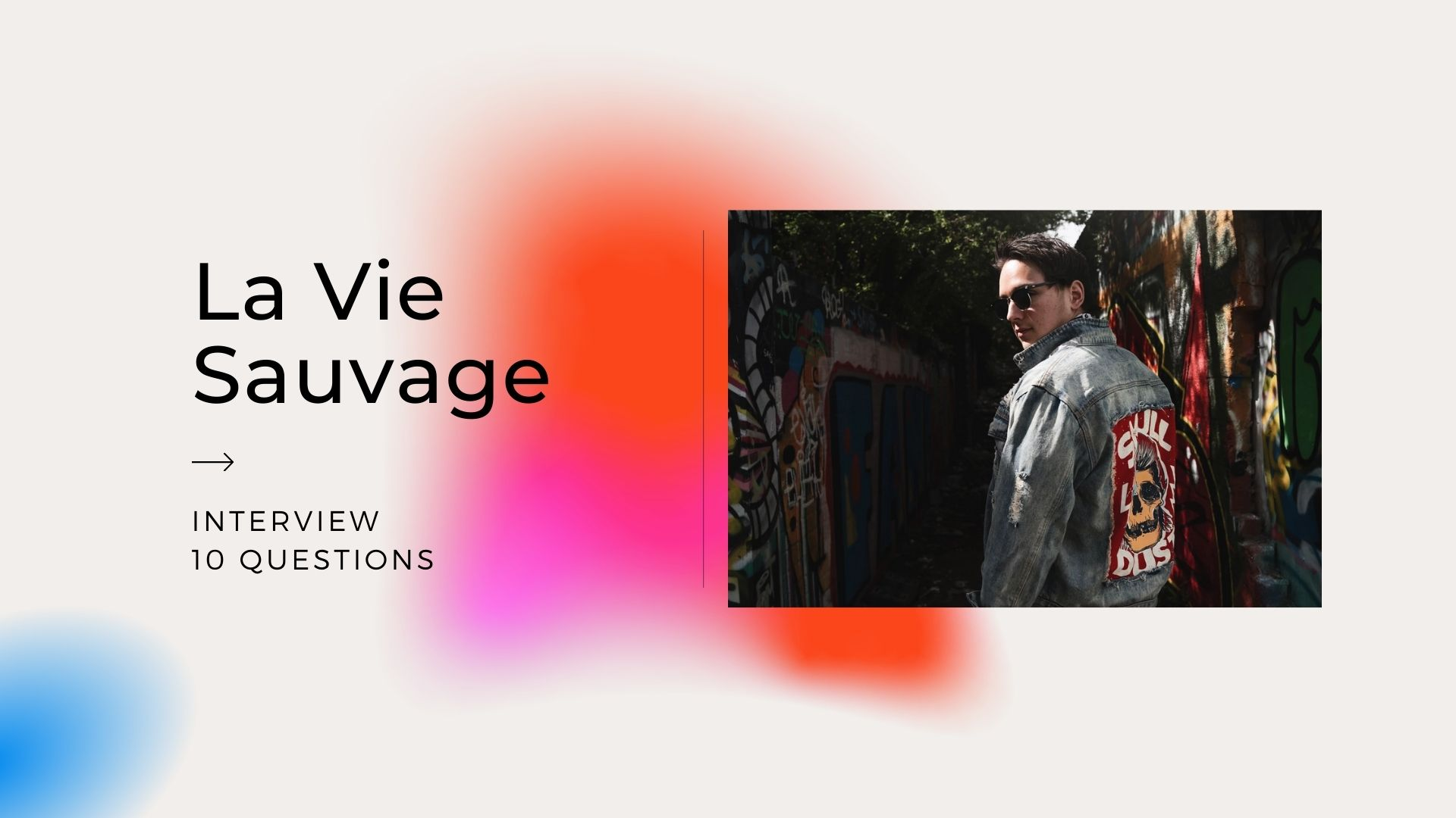 Today we would like to introduce you to La Vie Sauvage, the work of dutch knob-twiddler Miel, electro producer with a rock 'n roll spirit. With his new project, he aims for the club sound, yet with the outsider image that he has started to embody making psych-rock breakbeats in the past.