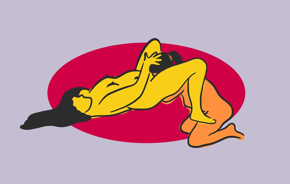 The Classic Pussy Eating Position