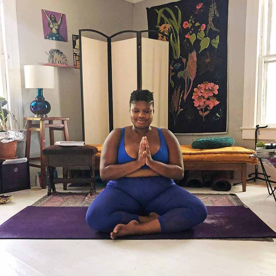 Jessamyn Stanley Meditation