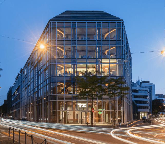 TX Markets and TX Group headquarters in Zurich, Switzerland.