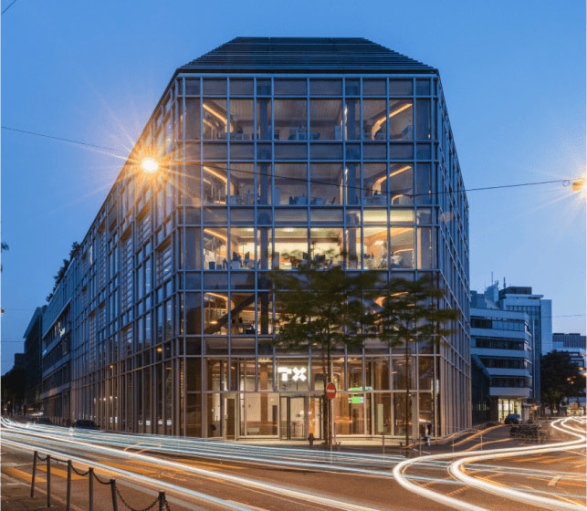 The TX Group Headquarters at Werdstrasse in Zurich