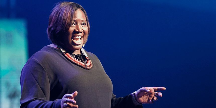 Be The Bridge speaker empowering an audience