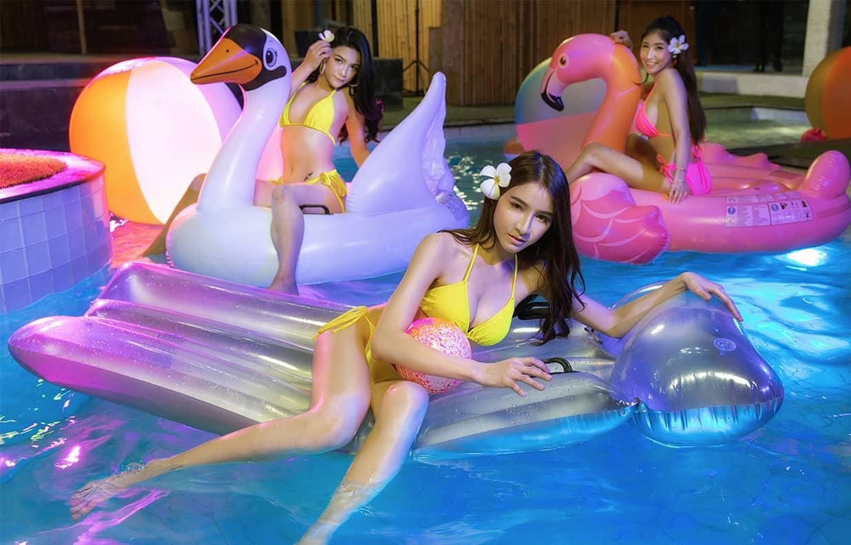 Pool Party at the Pimp Bangkok